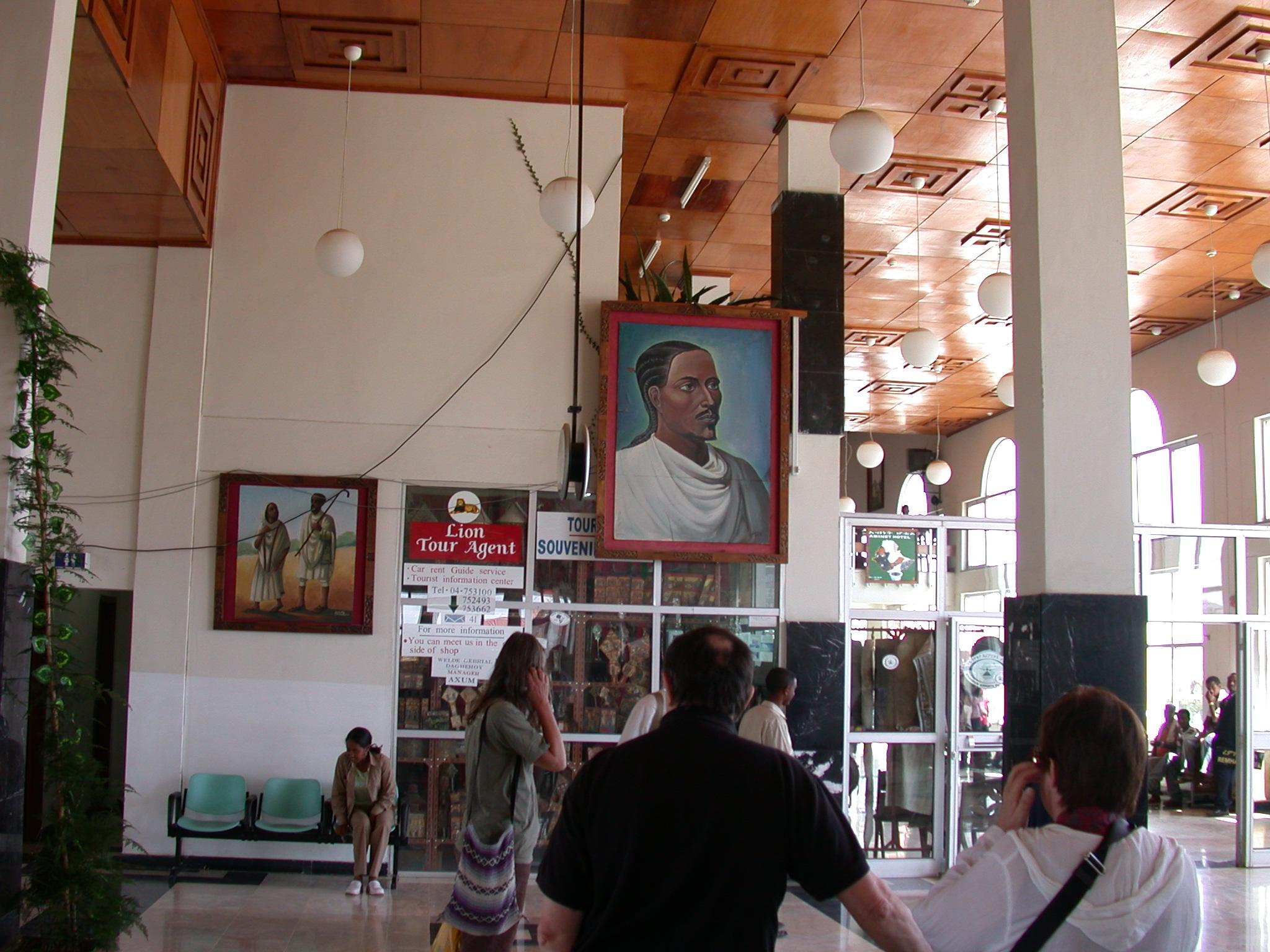 Axum Airport, Tirgrai, Ethiopia