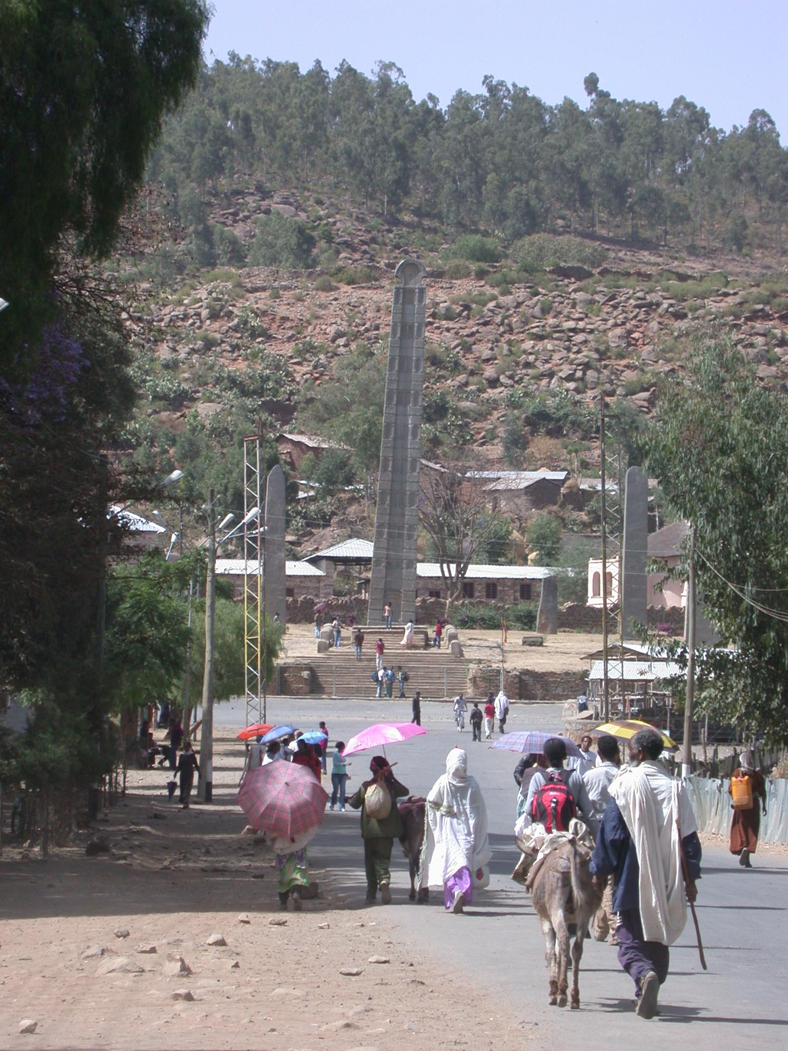Obelisk, Axum, Tigrai, Ethiopia