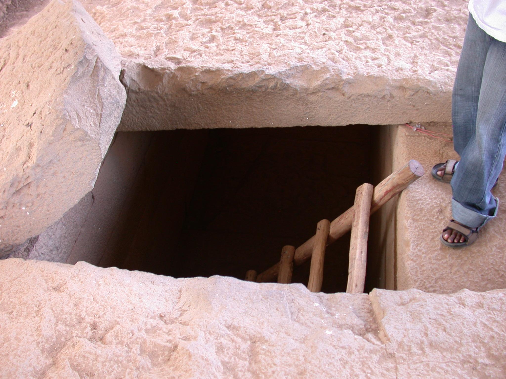 Subterranean Chambers, Axum, Tigrai, Ethiopia
