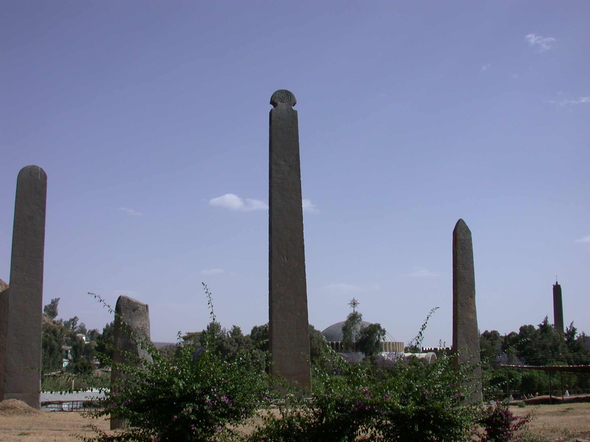 Obelisk With Back Carving, Axum, Tigrai, Ethiopia