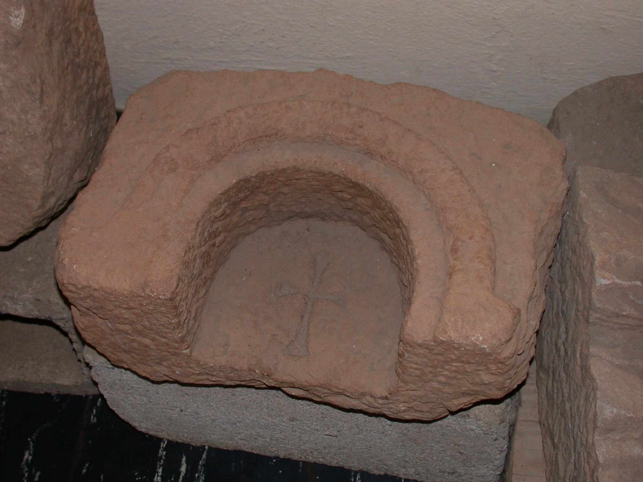 Cross, Axum Museum, Axum, Tigrai, Ethiopia