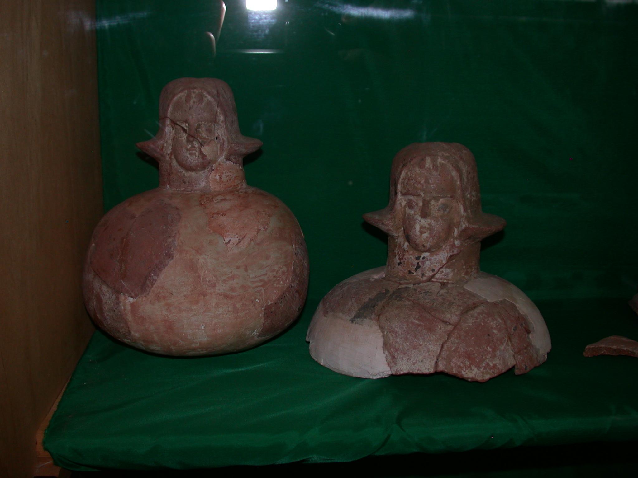 Terra Cotta Human Figures, Axum, Tigrai, Ethiopia