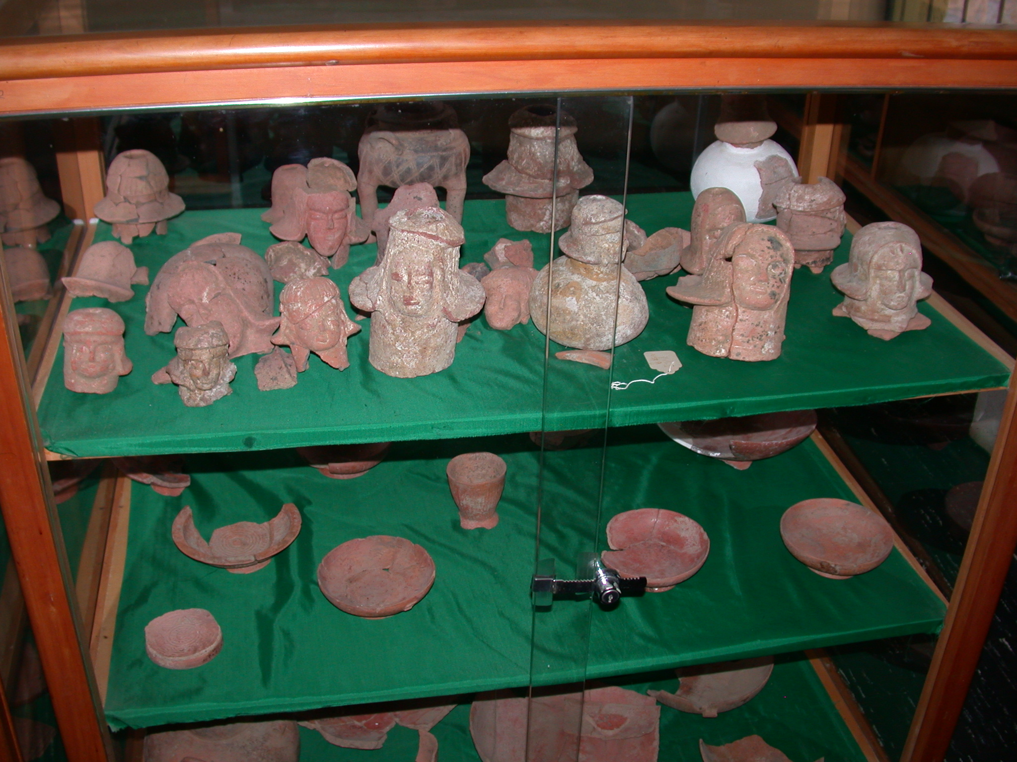 Figurines, Dishes, and Other Items, Axum Museum, Axum, Tigrai, Ethiopia