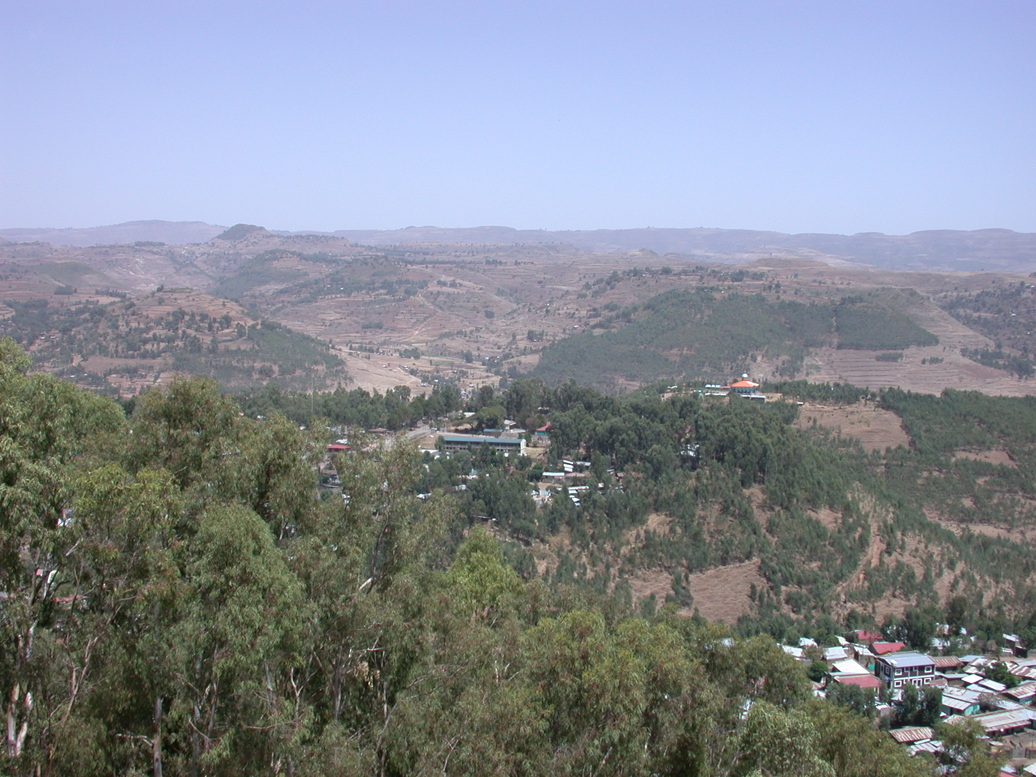 View From Goha Hotel, Gonder, Ethiopia