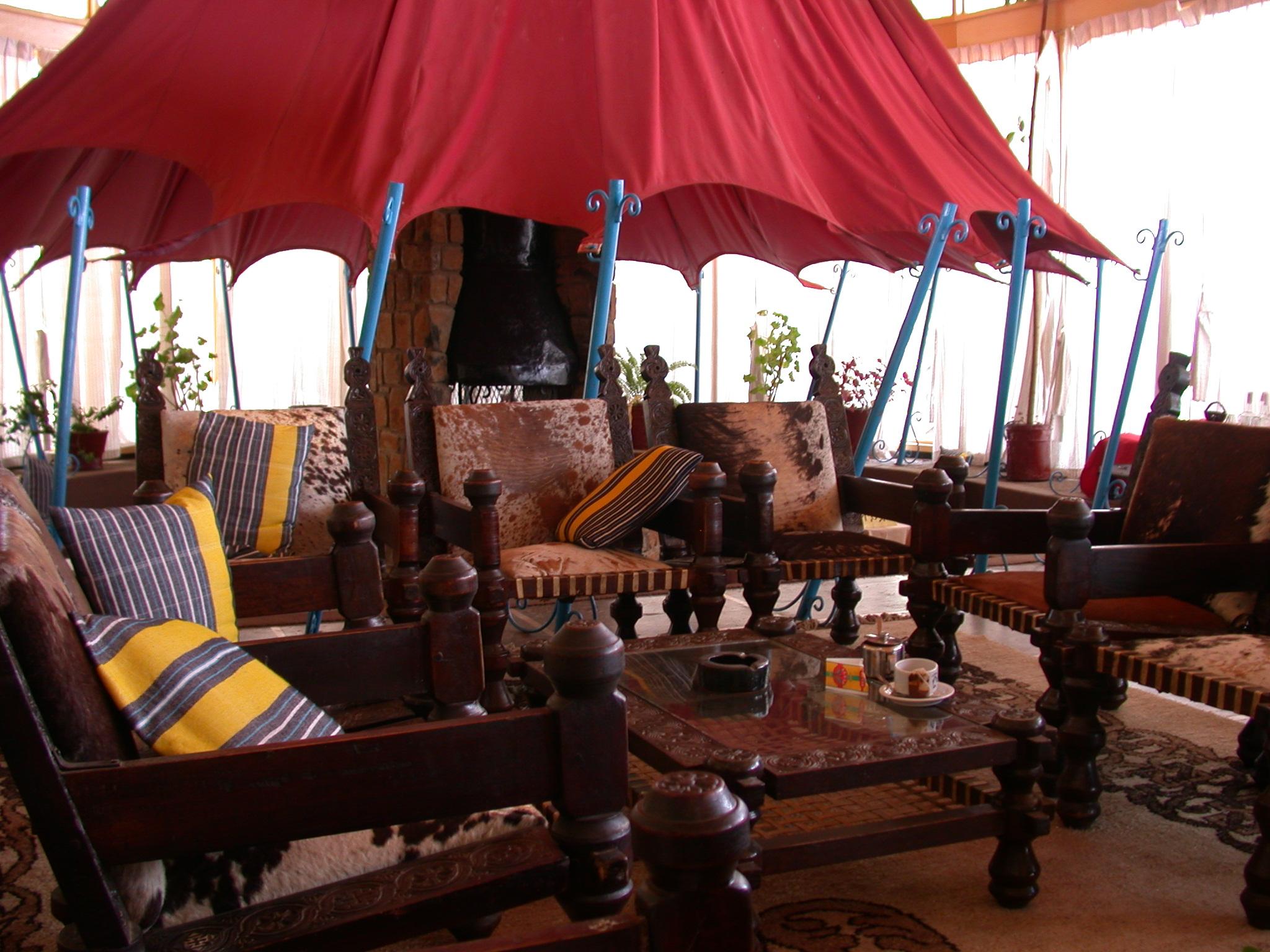 Goha Hotel, Gonder, Ethiopia