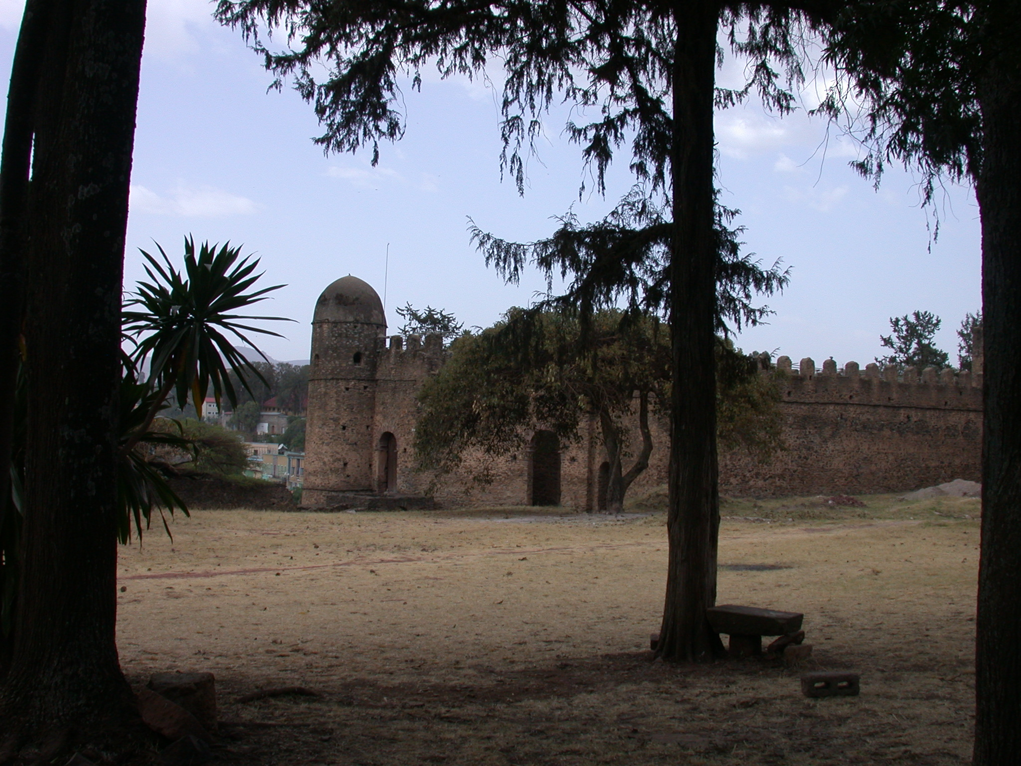 Fasil Ghebbi Royal Enclosure, Gonder, Ethiopia