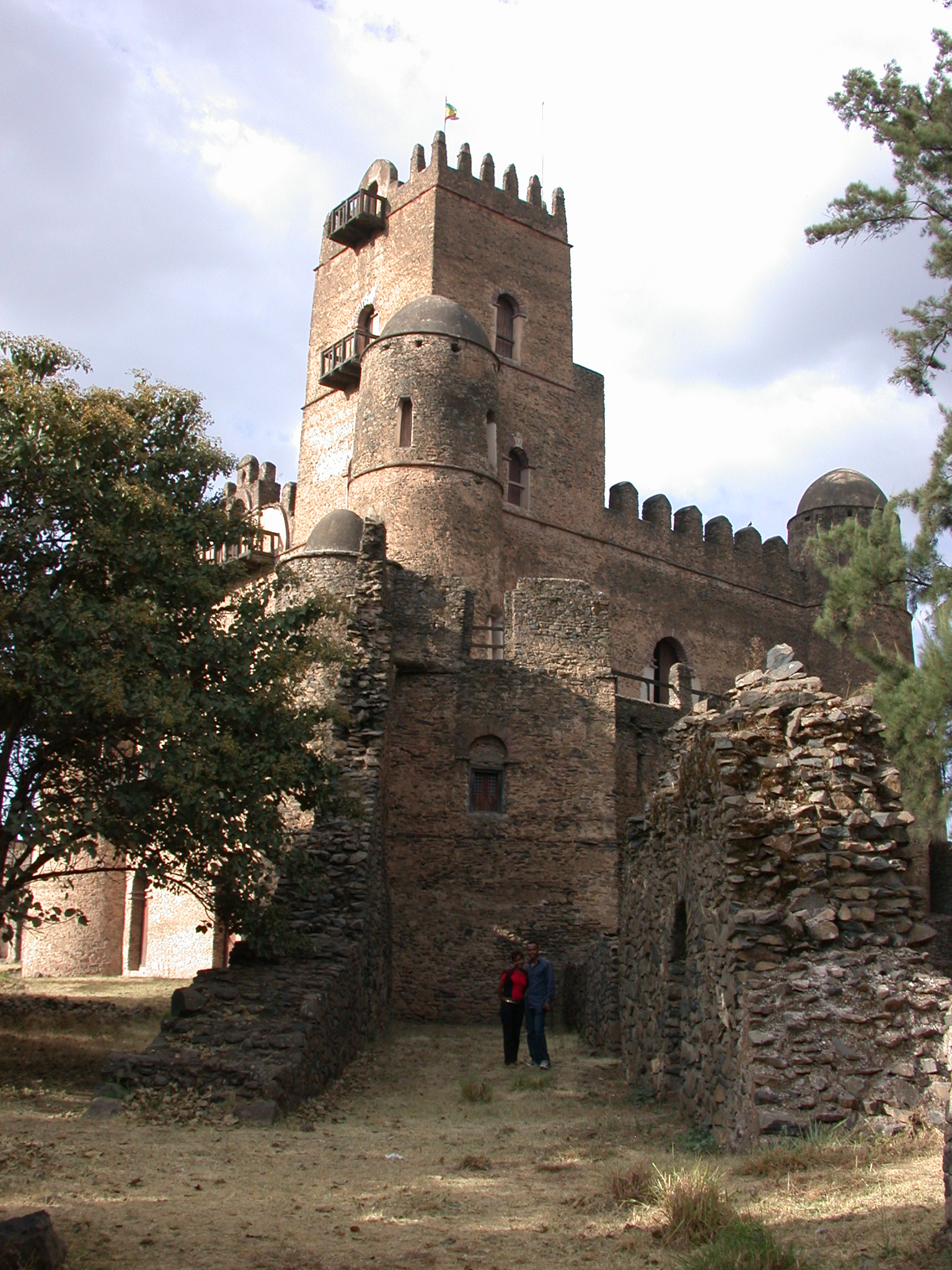 Palace, Fasil Ghebbi Royal Enclosure, Gonder, Ethiopia