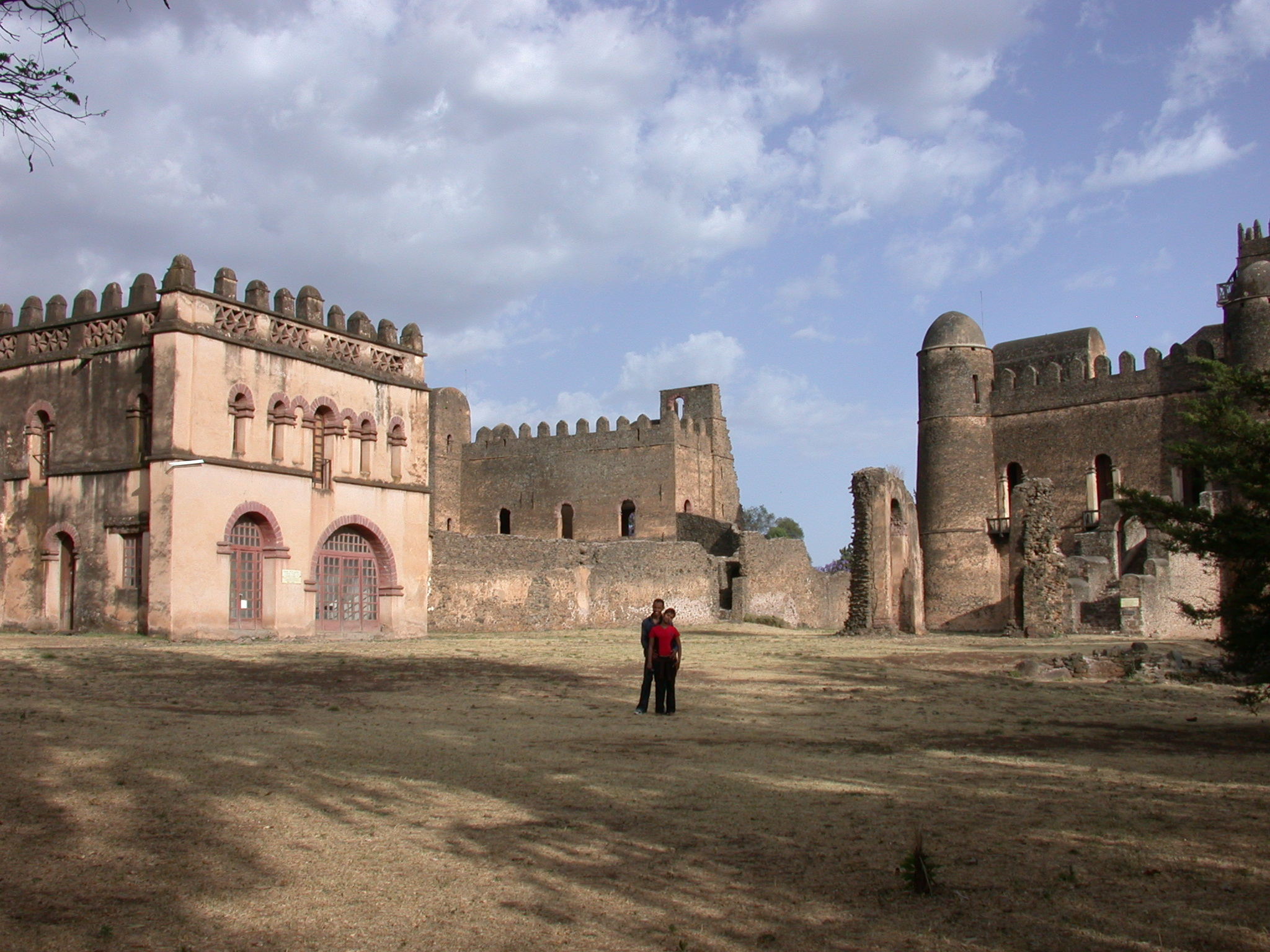 Palaces, Fasil Ghebbi Royal Enclosure, Gonder, Ethiopia