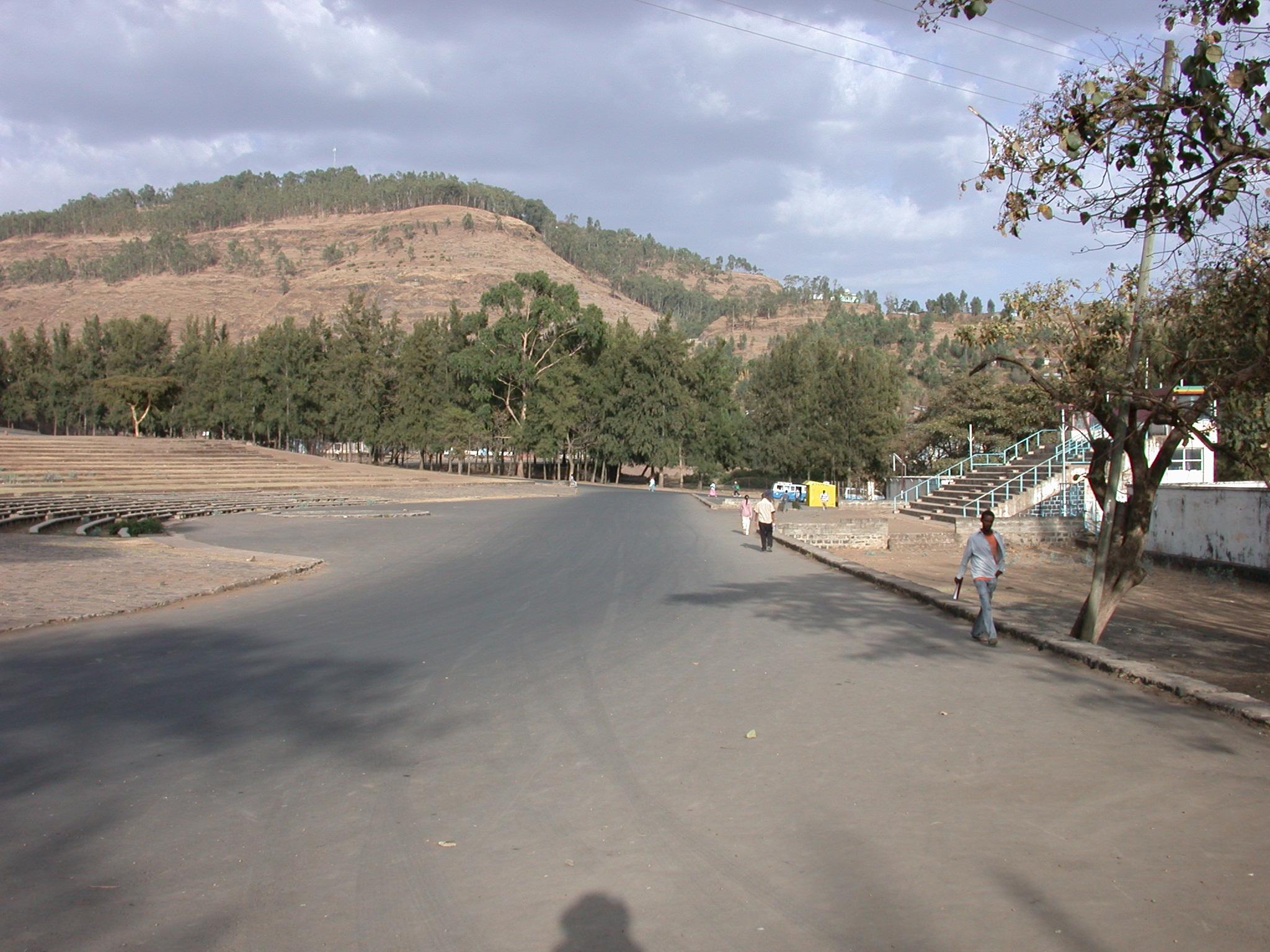 Derg-Era Stadium, Gonder, Ethiopia