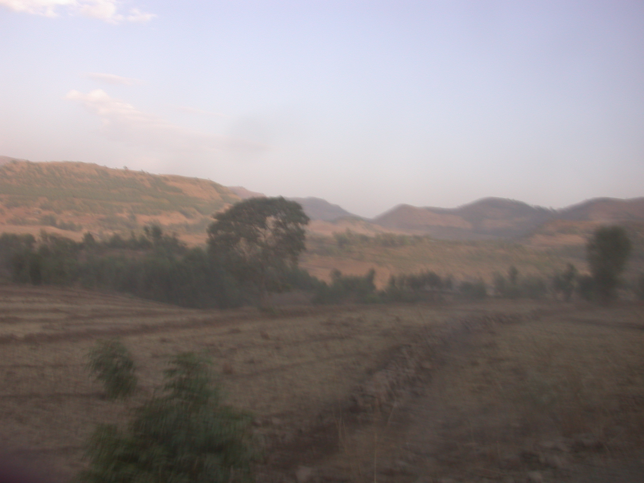 Route From Gonder to Debark, Ethiopia