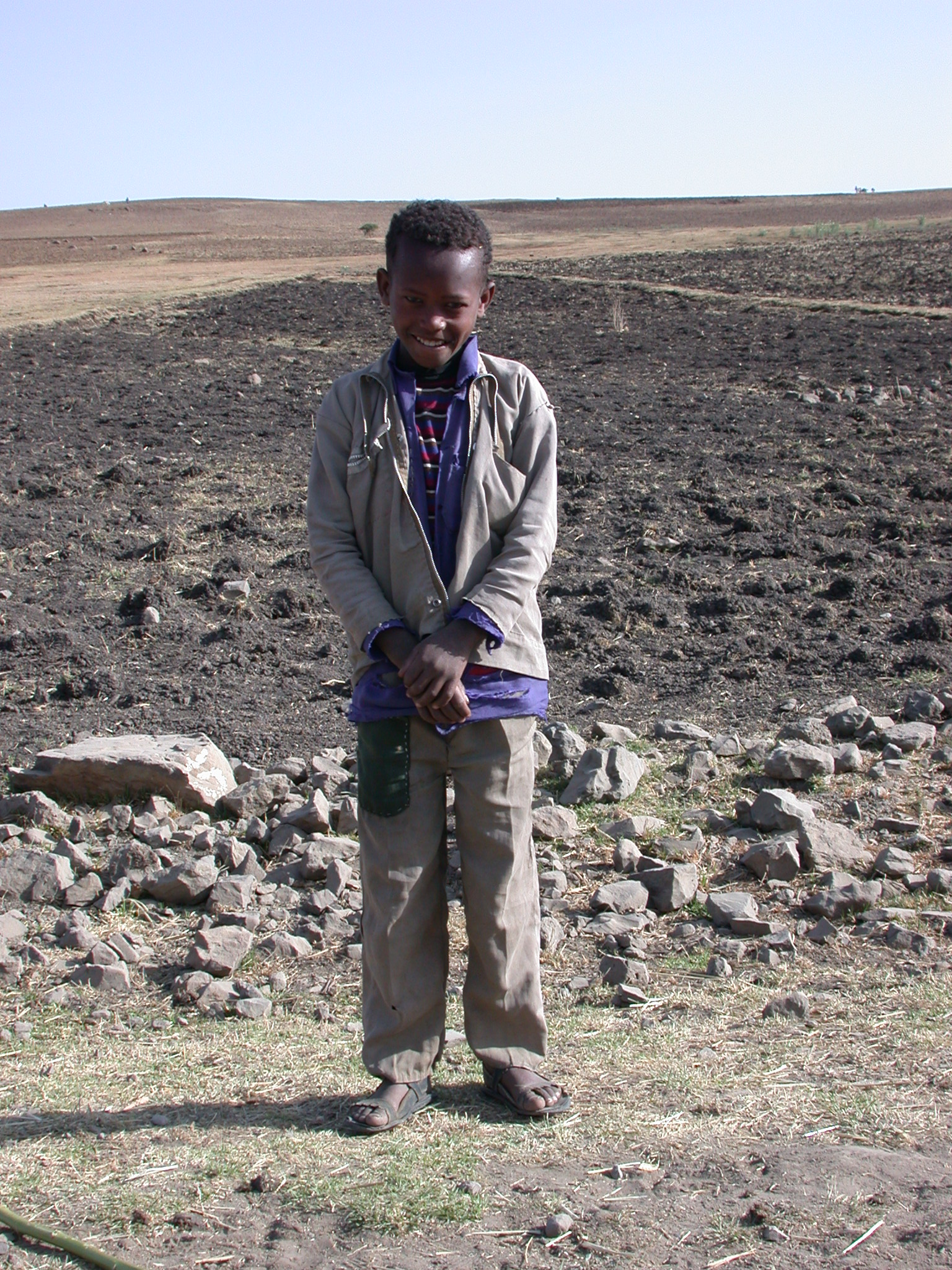 Resident of Village at Site of Bus Breakdown, Route From Gonder to Debark, Ethiopia