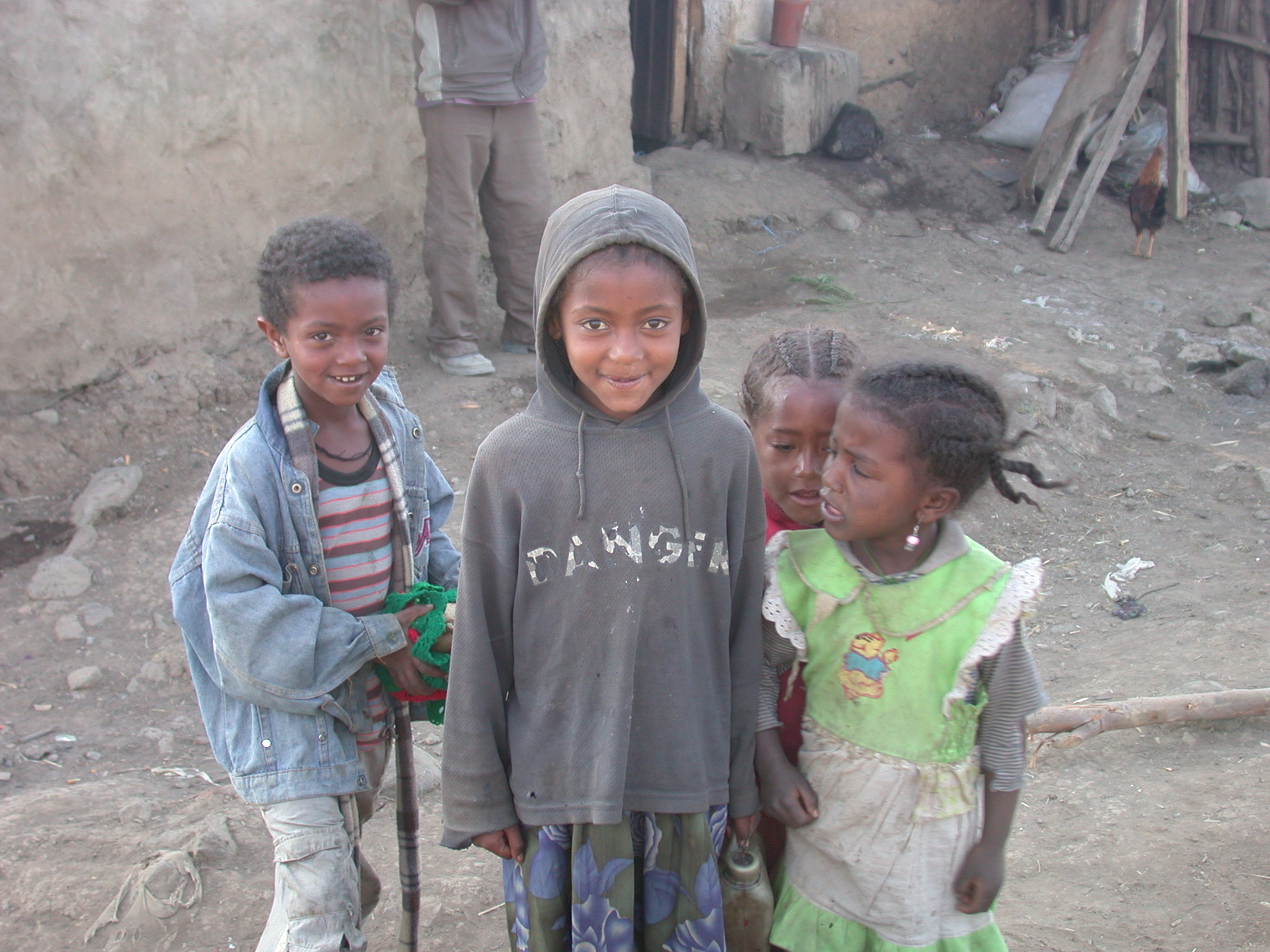 Children in Debark, Ethiopia