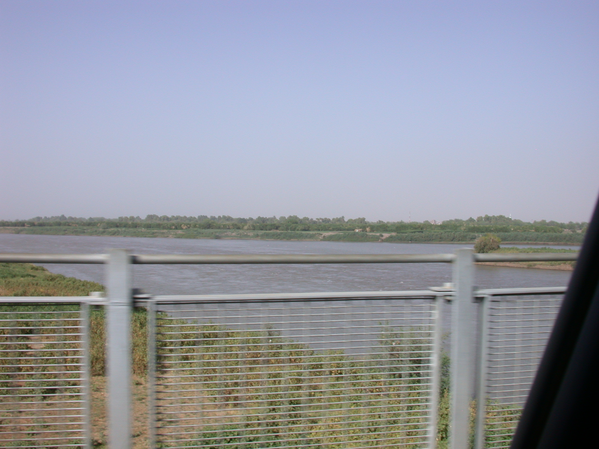 Confluence of the Blue and White Nile, Khartoum, Sudan