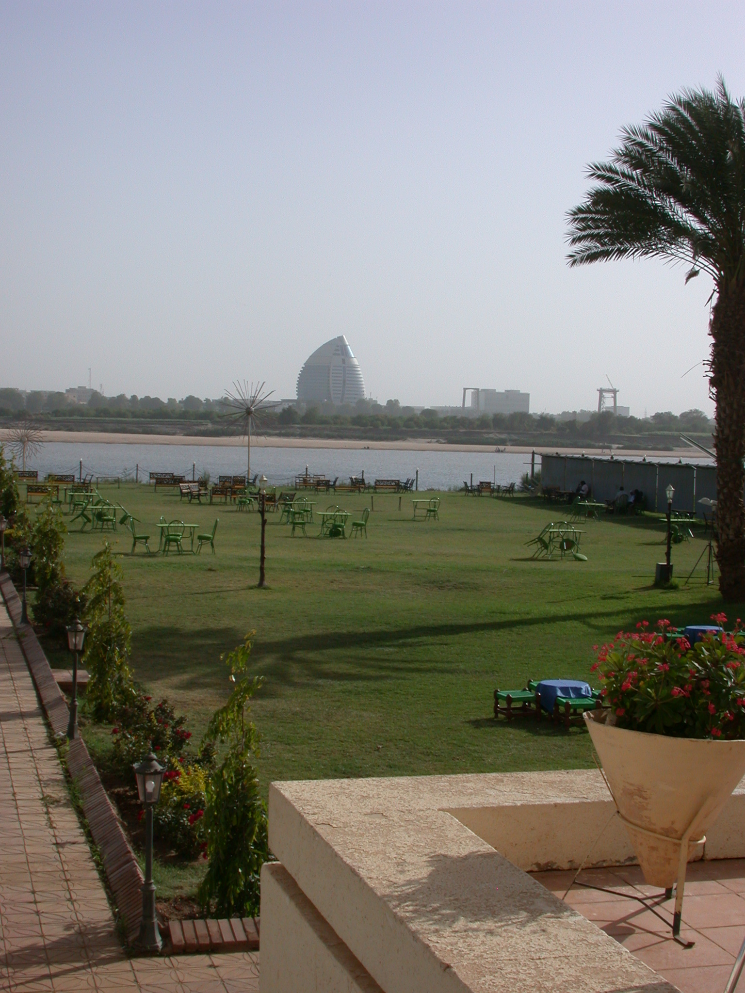 View From Palace Hotel, Khartoum, Sudan