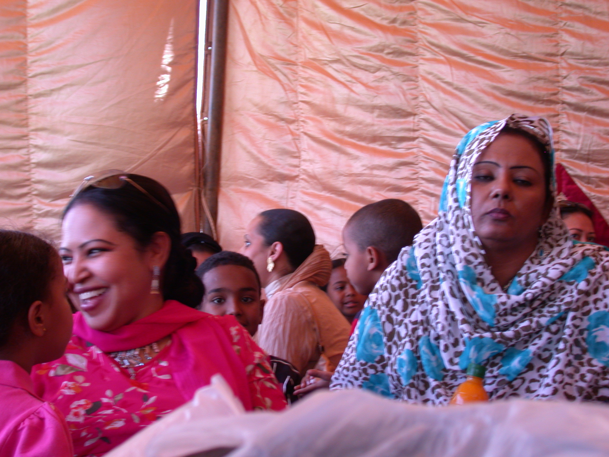 Women at International Charity Fair, Khartoum, Sudan