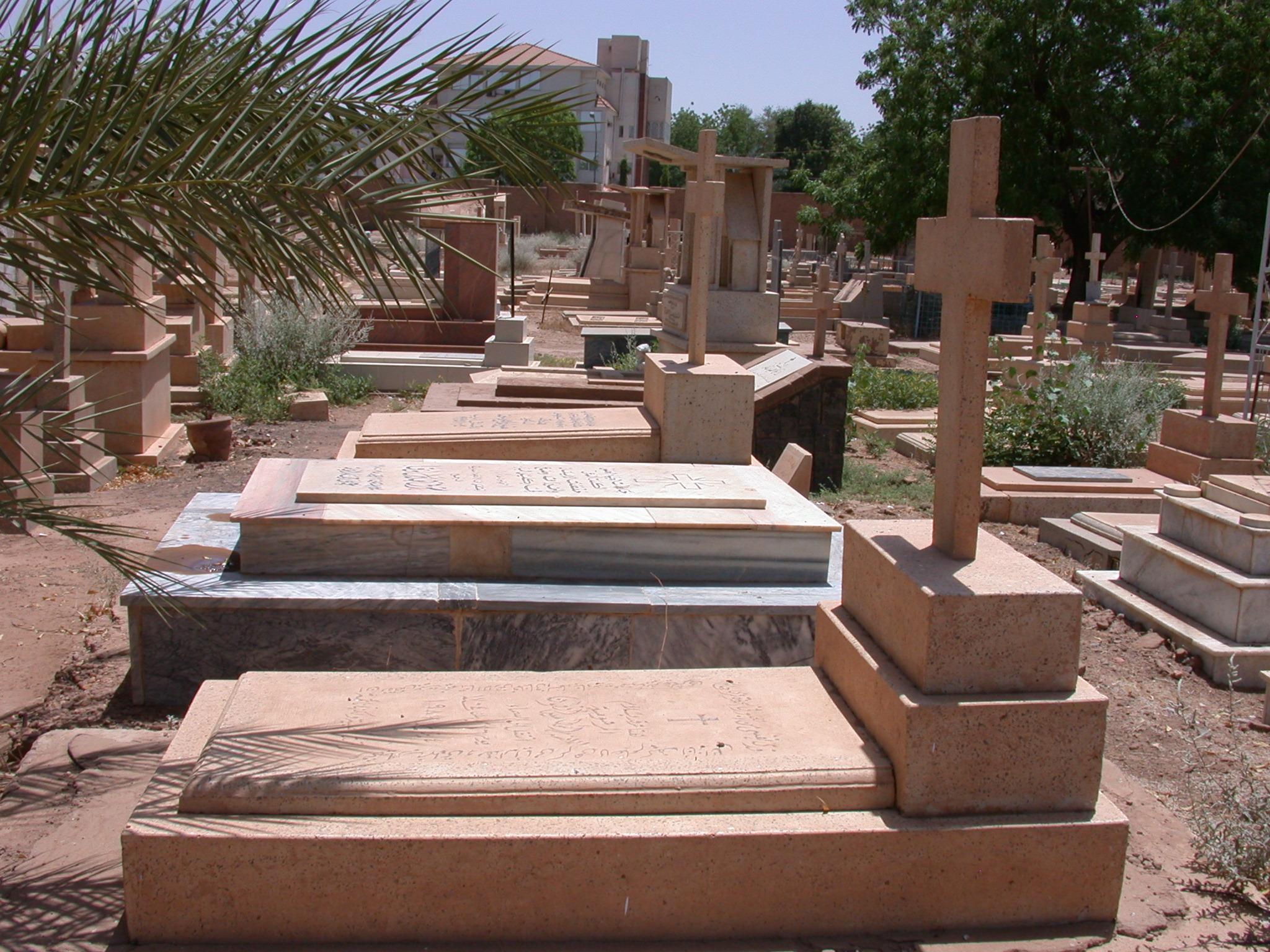 Christian Cemetery, Khartoum, Sudan