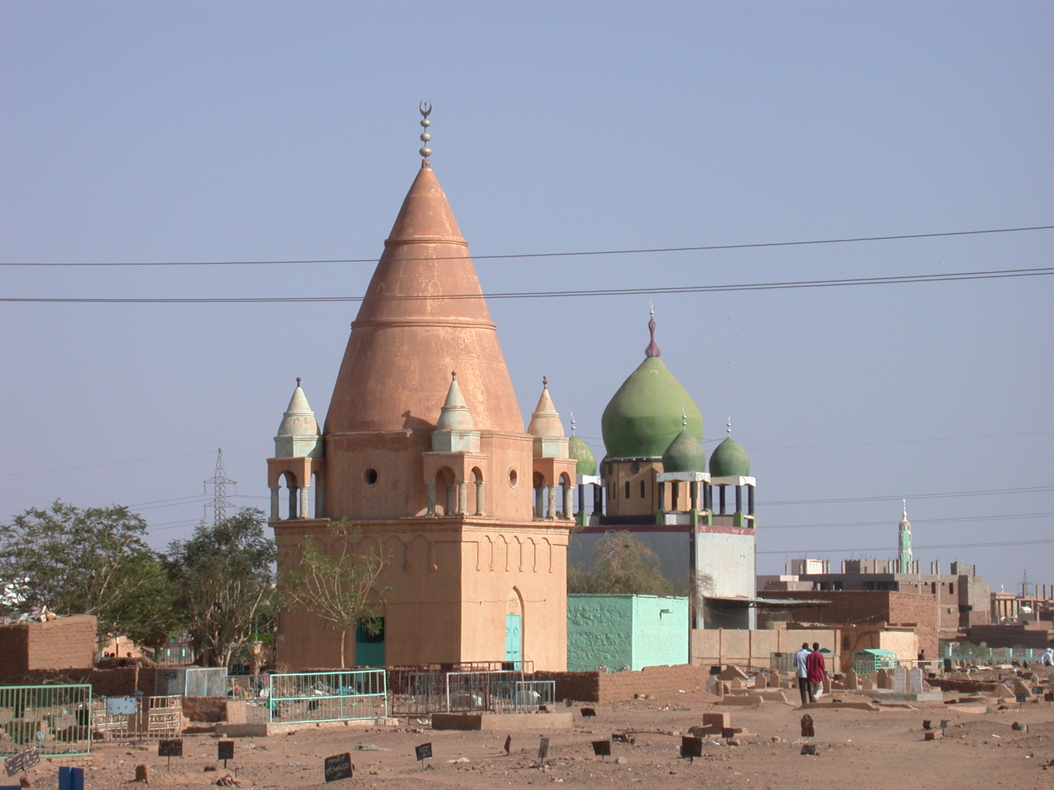 Tombs at Sufi Dancing Site, Omdurman, Sudan