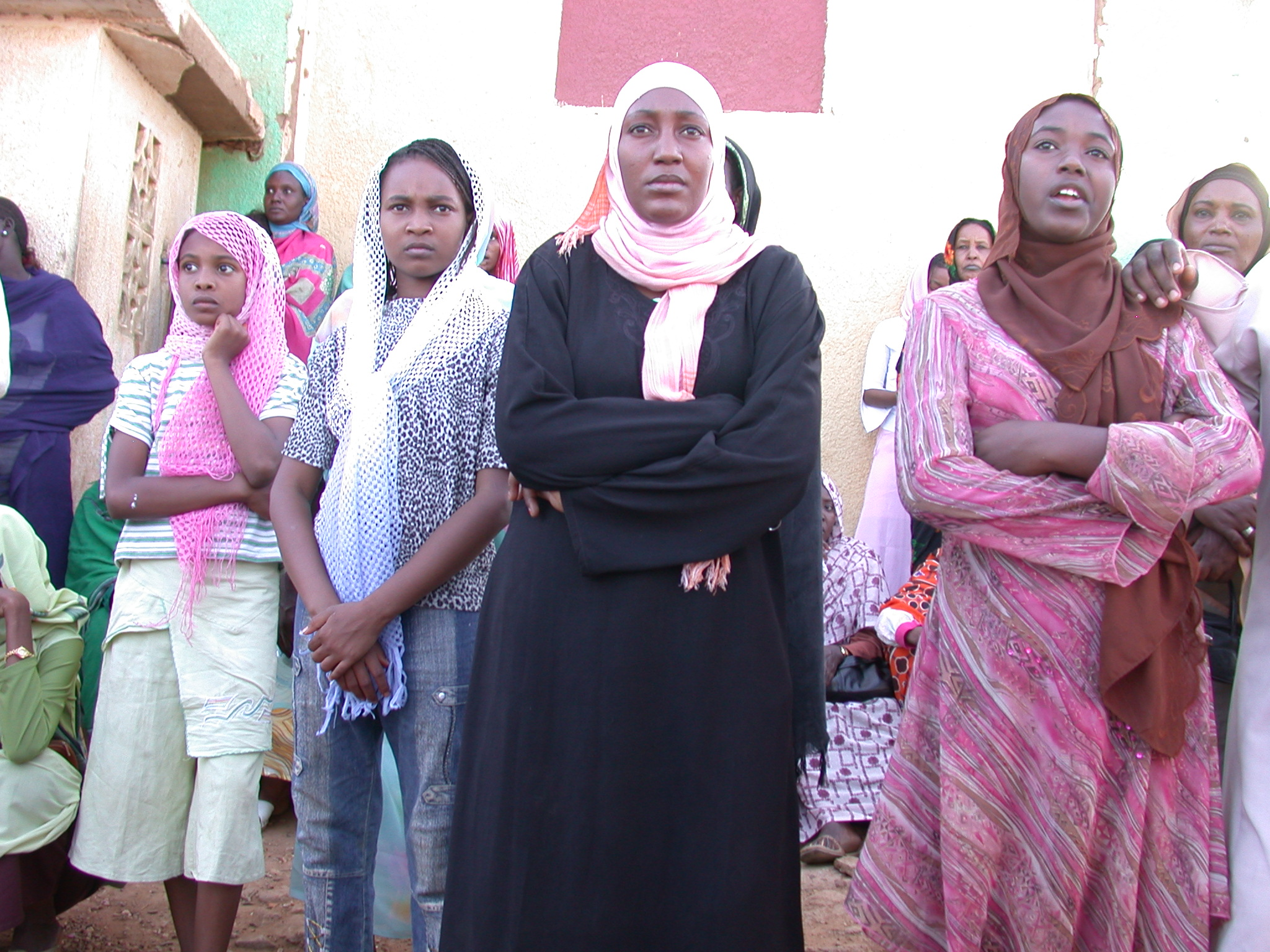 Women at Sufi Dancing Site, Omdurman, Sudan