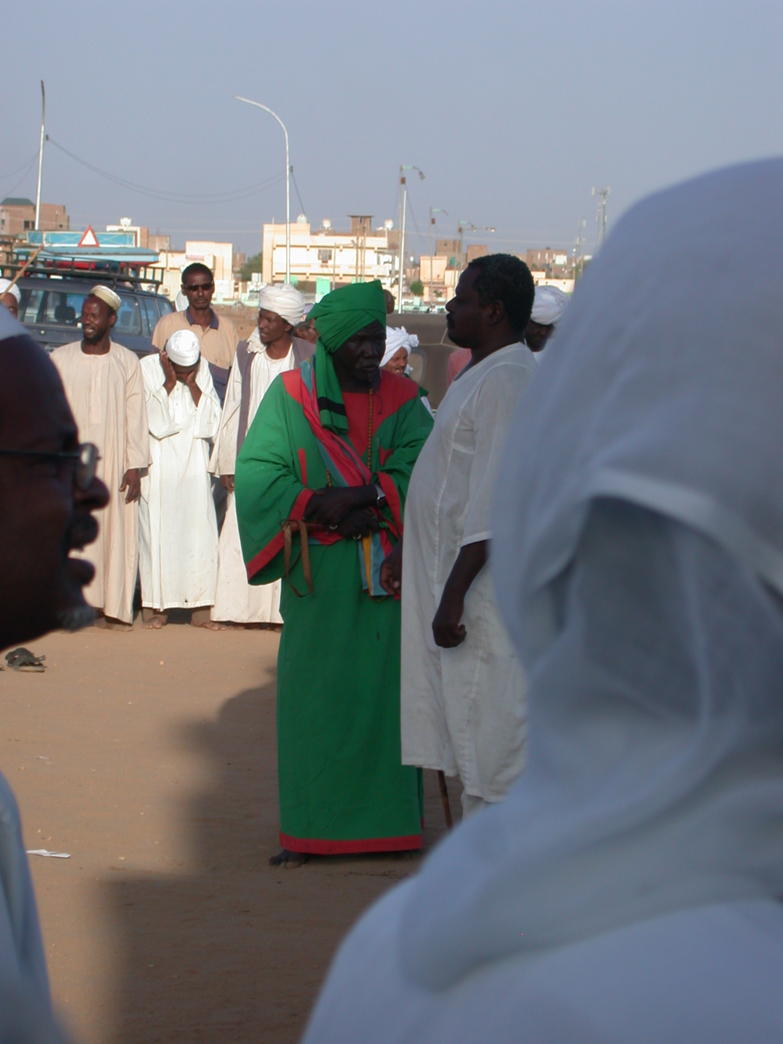 Sufi at Sufi Dancing Site, Omdurman, Sudan
