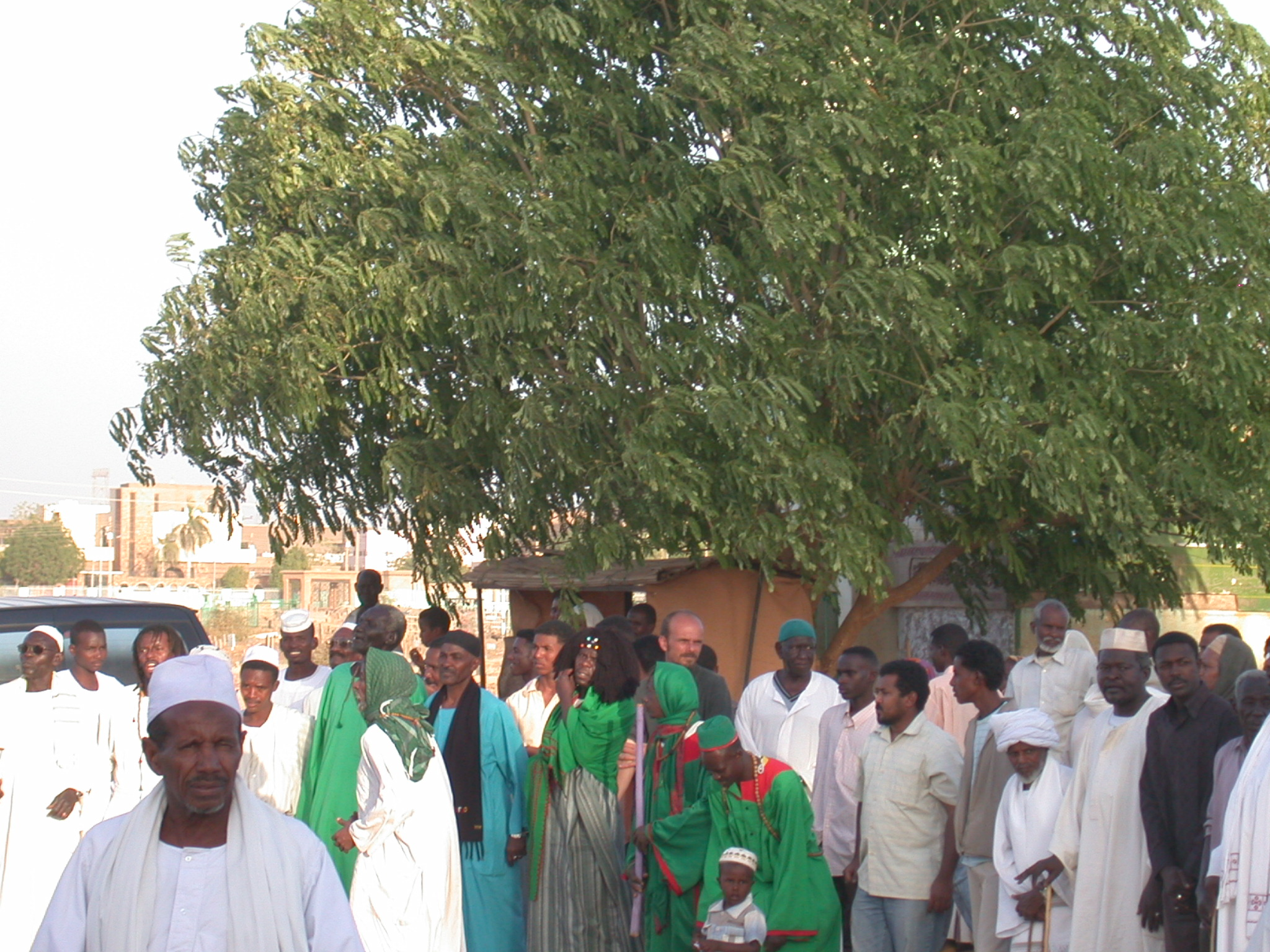 Participants in Sufi Dancing, Omdurman, Sudan