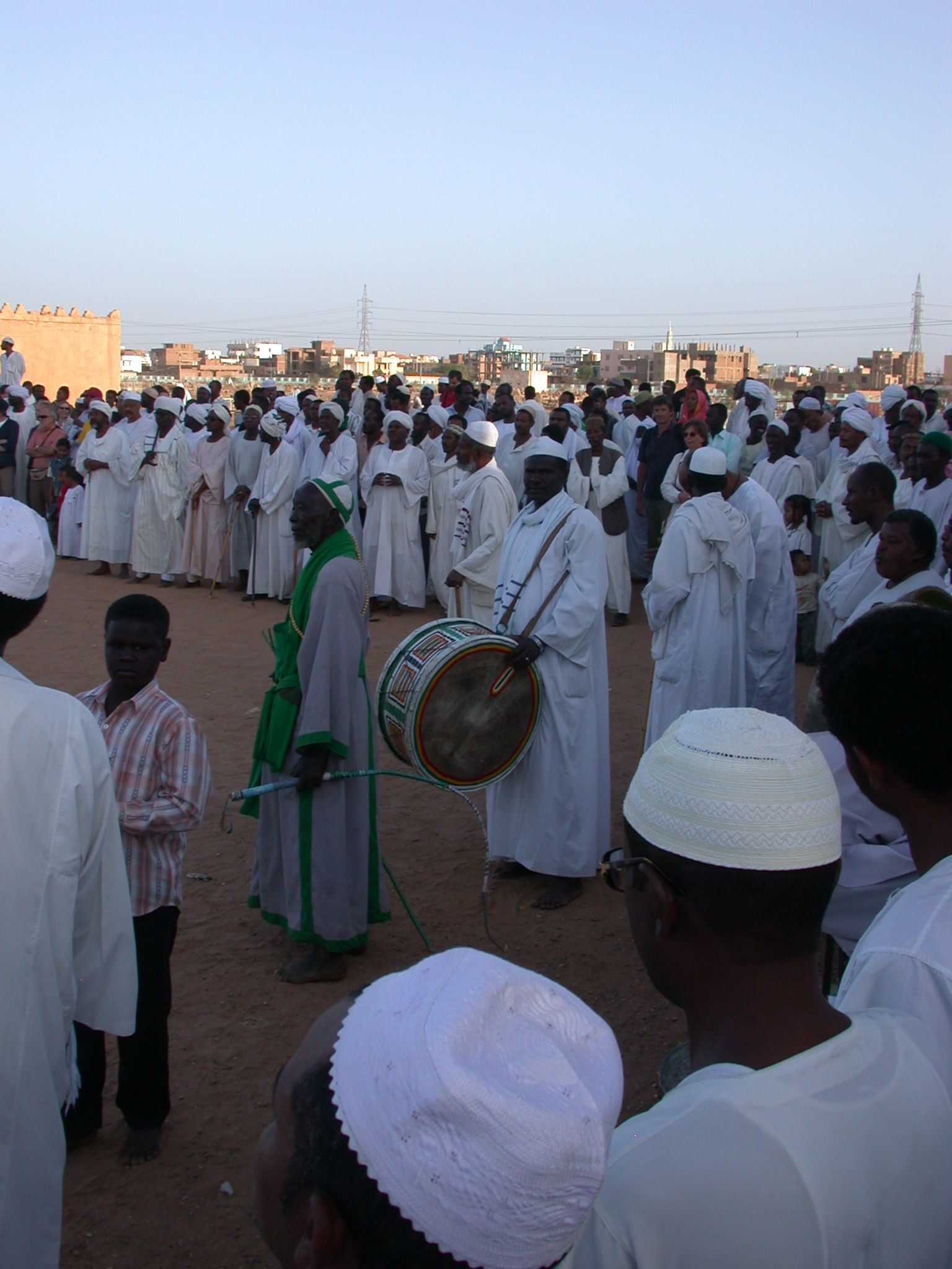 Sufis at Sufi Dancing Site, Omdurman, Sudan