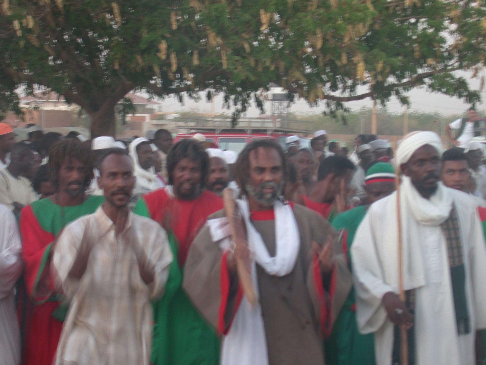 Sufis Dancing, Omdurman, Sudan