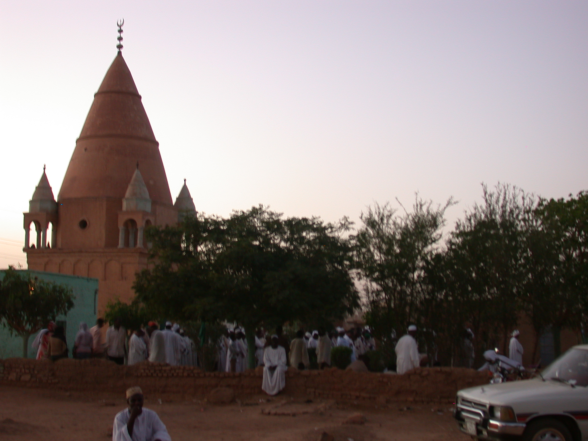 After Sufi Dancing, Omdurman, Sudan