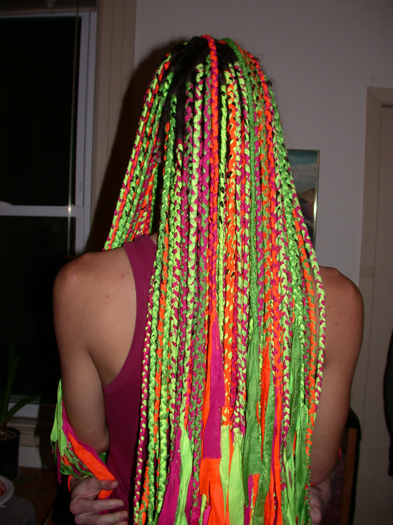 Keleb Colorful Dreads