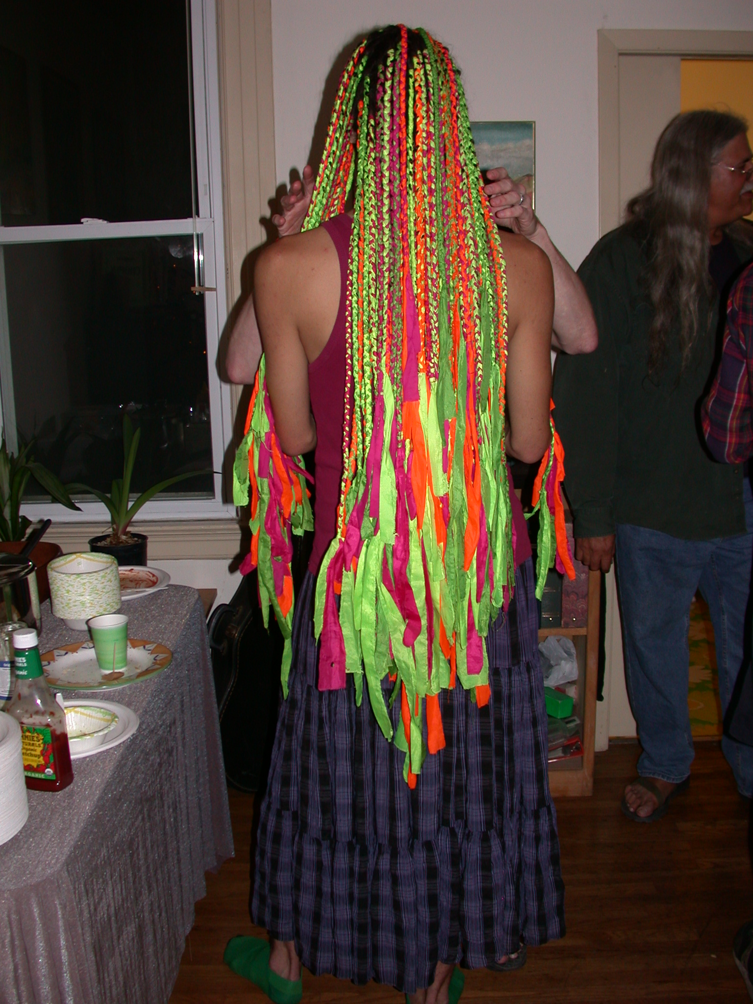 More of Keleb Colorful Dreads