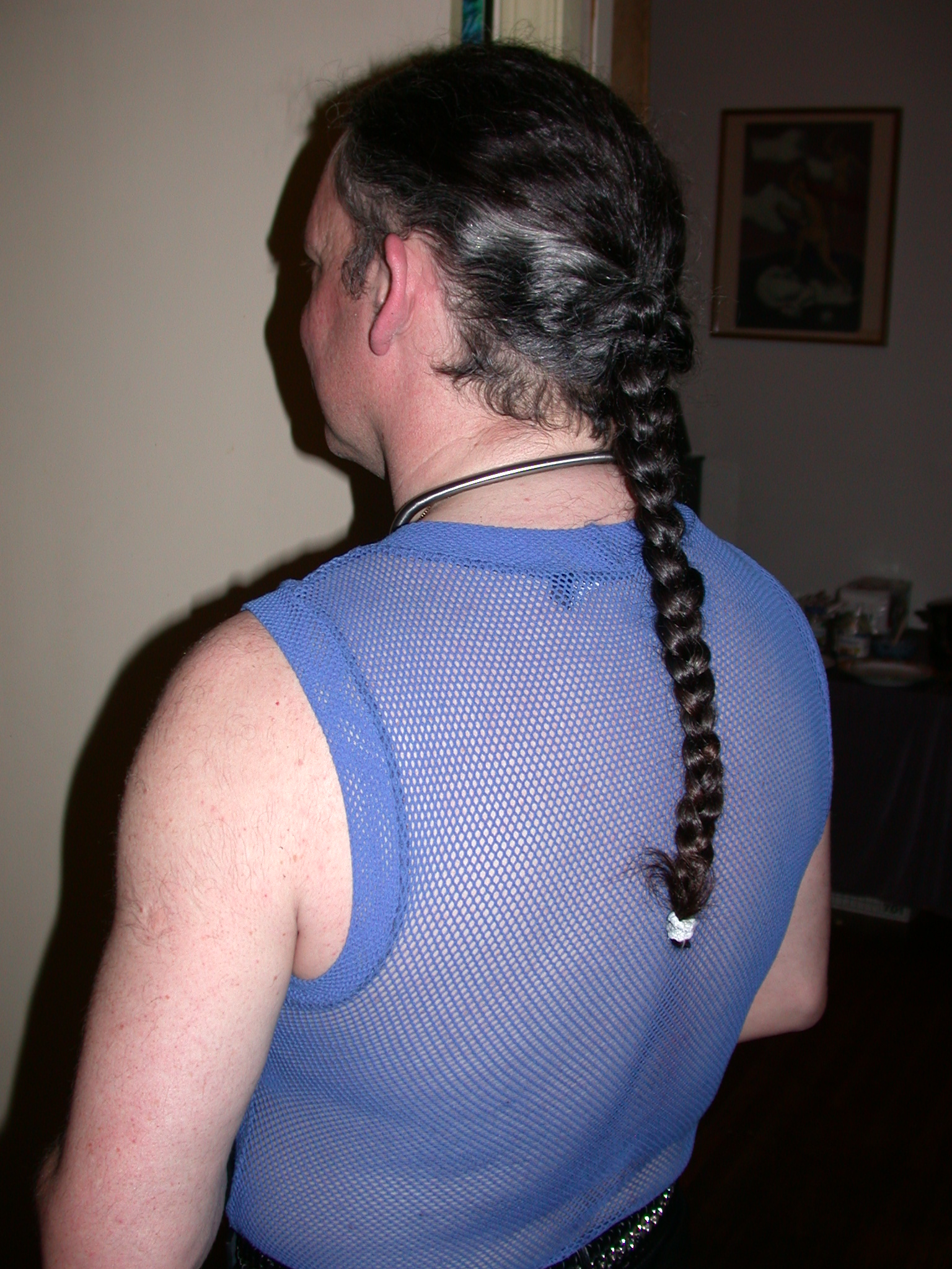 Bryan Braided From Rear