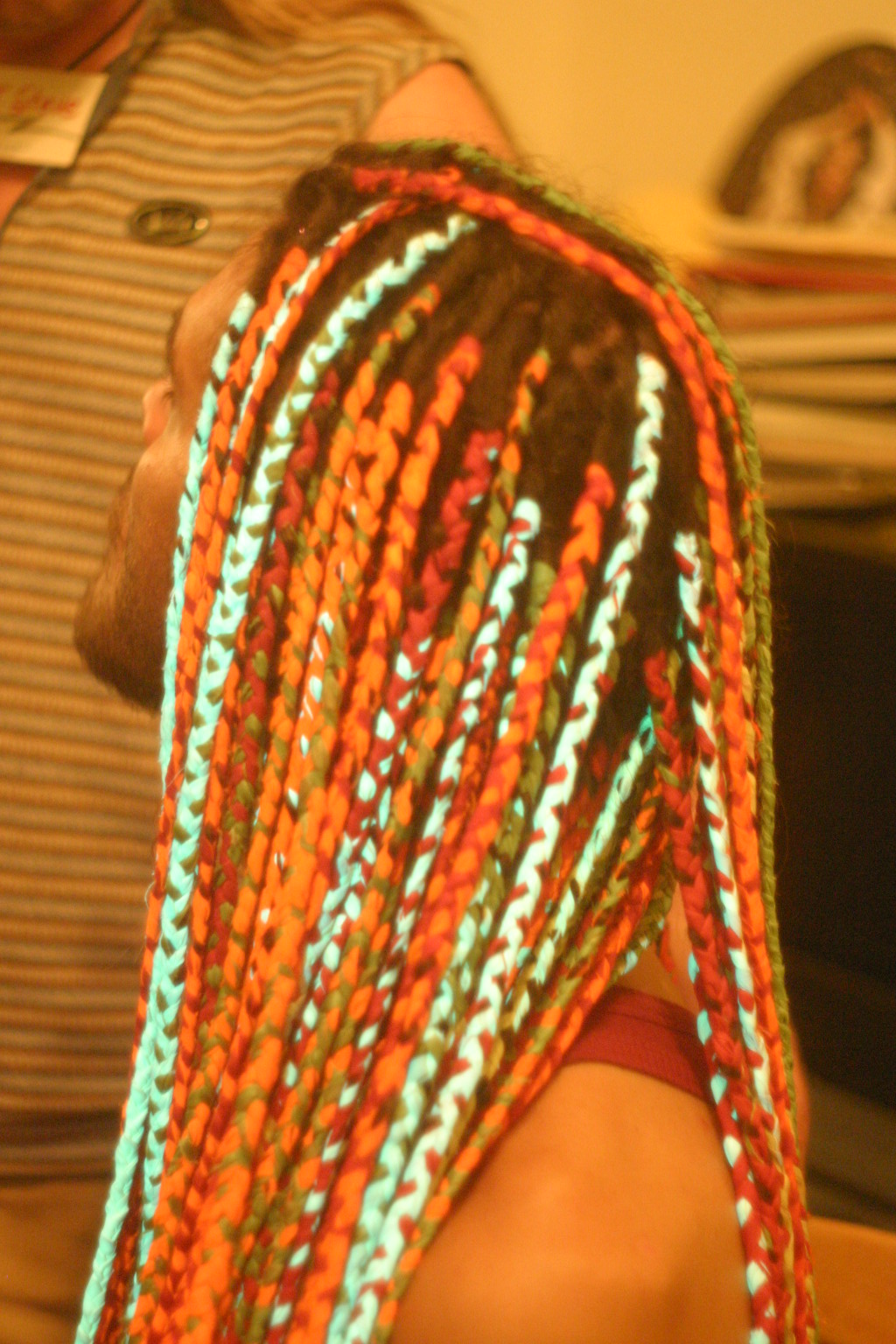 Keleb Dayglow Dreads