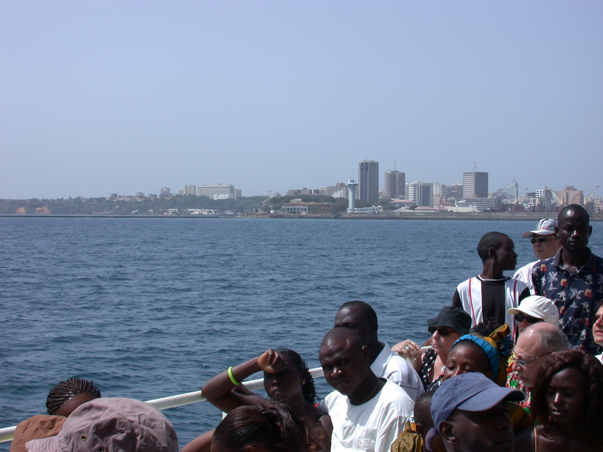 More of Dakar Cape From Ile de Goree Ferry