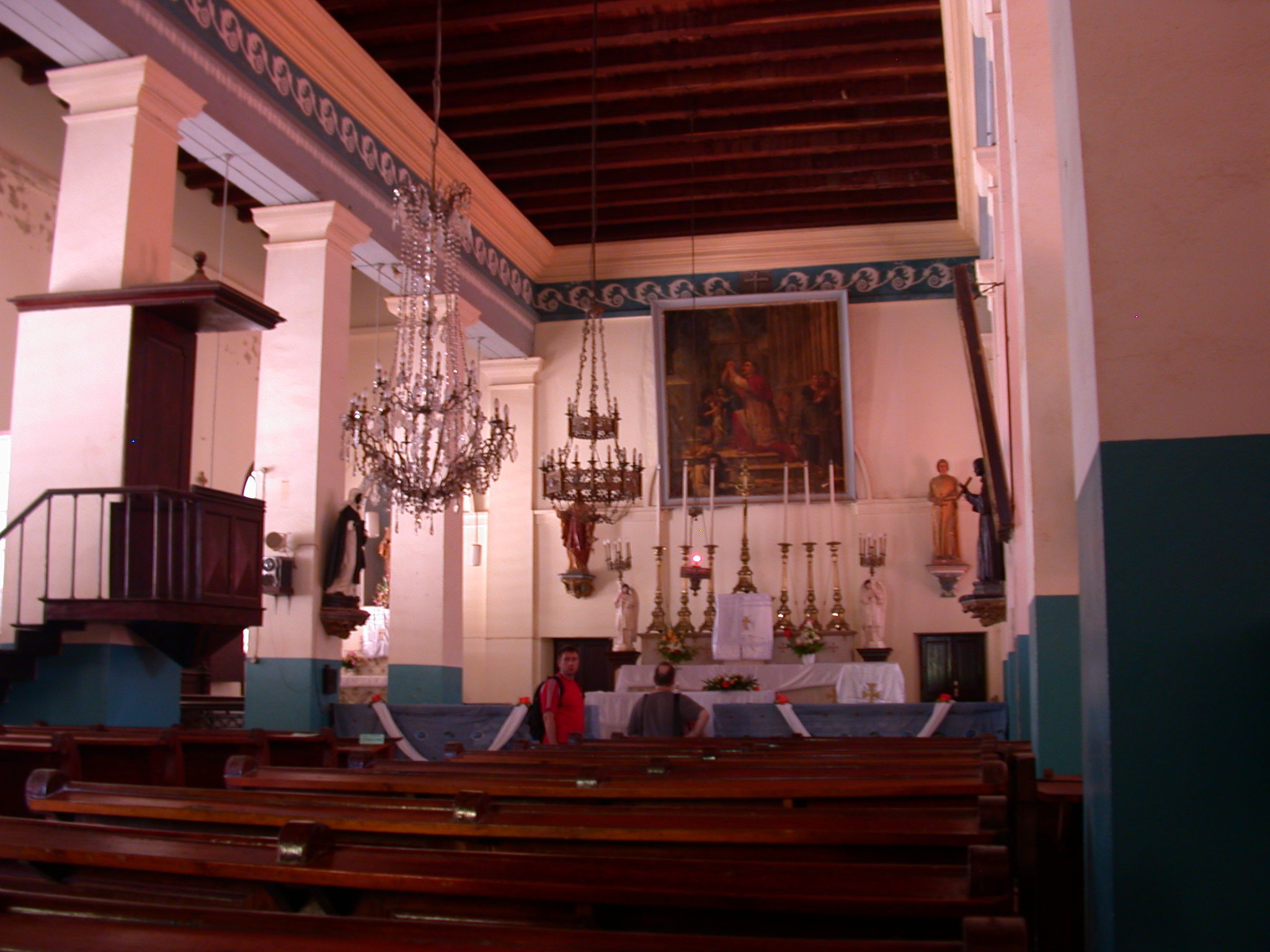 Cathedral on Ile de Goree, Dakar, Senegal