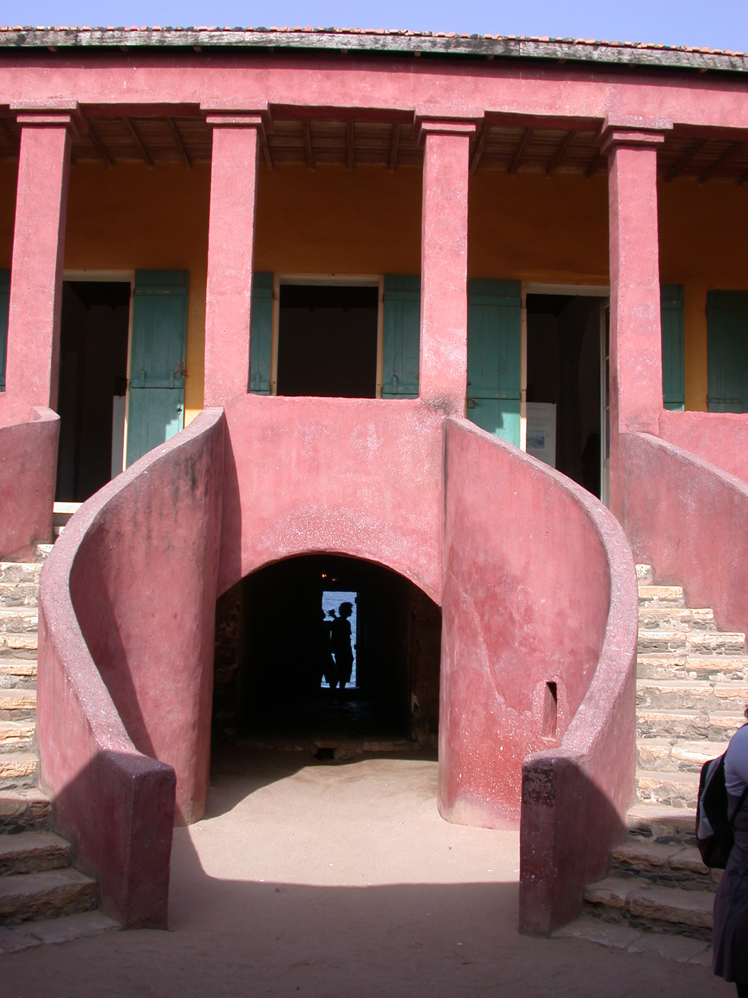Door of No Return, Maison des Esclave, Ile de Goree, Dakar, Senegal