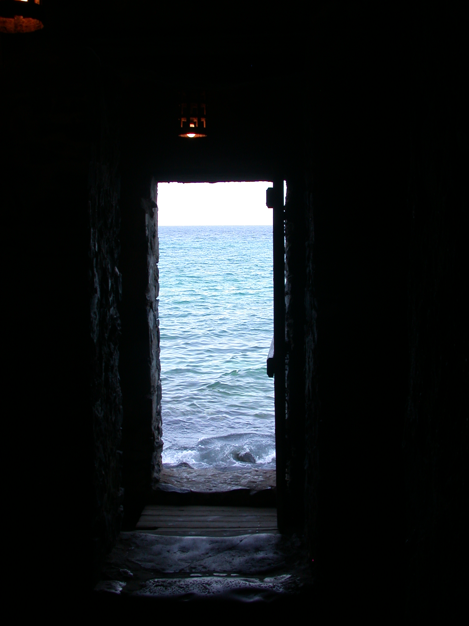 Standing Just Before the Door of No Return, Maison des Esclaves, Ile de Goree, Dakar, Senegal