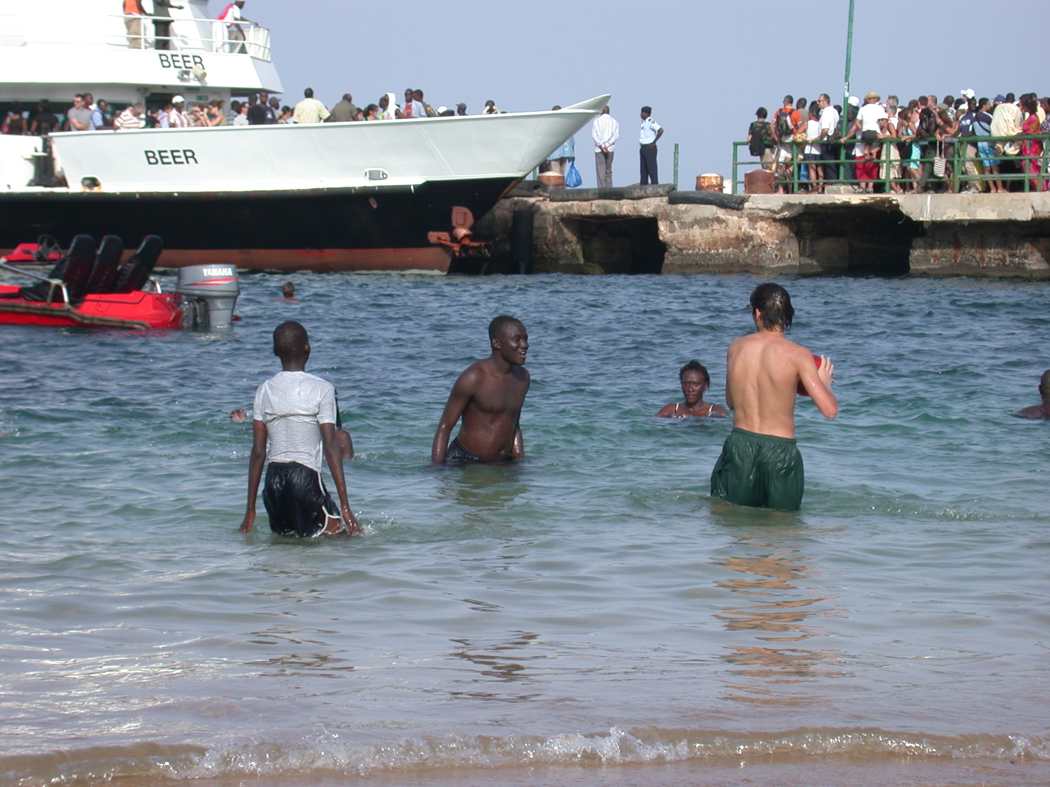 Beach, Ile de Goree, Dakar, Senegal