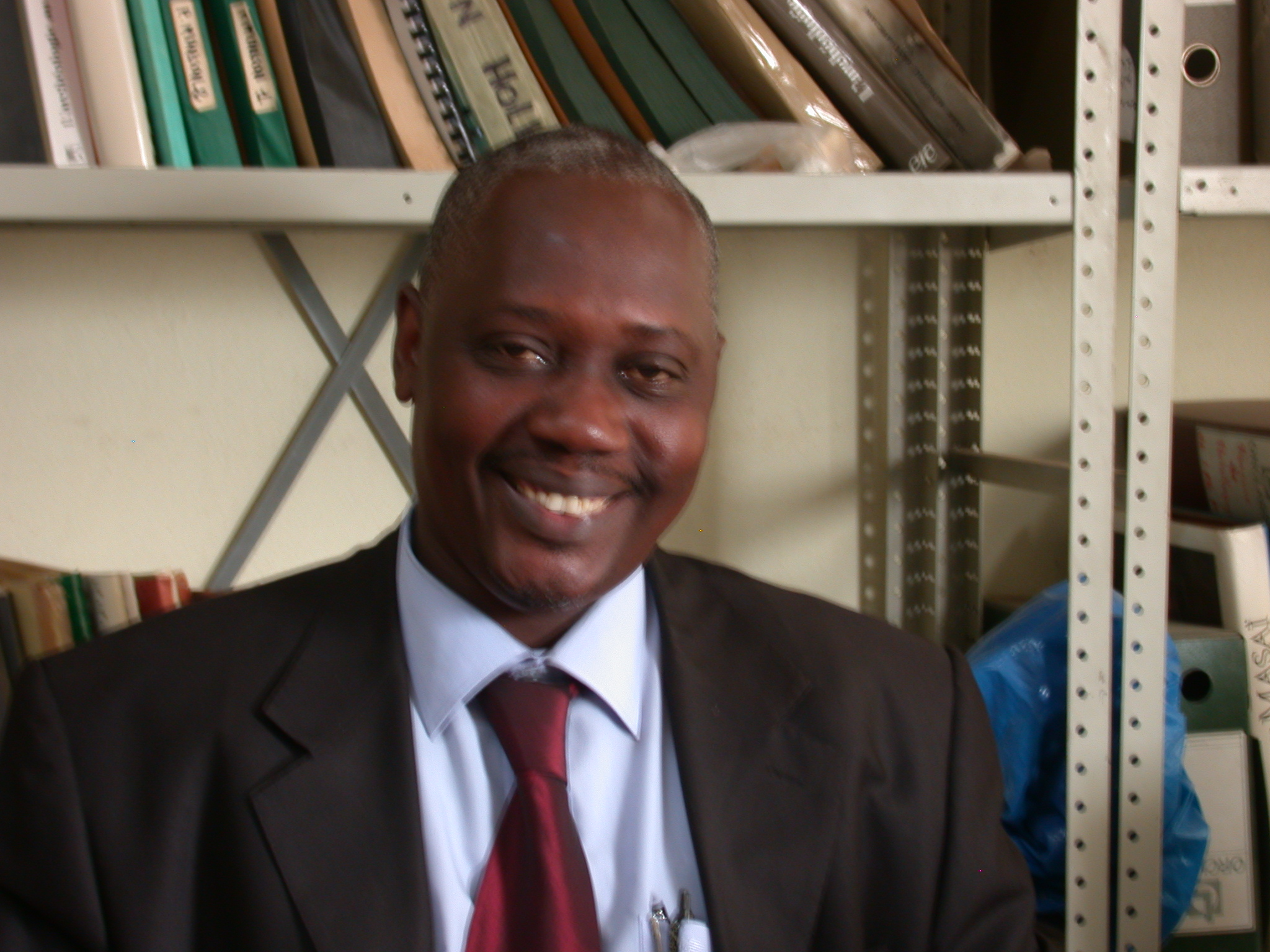 Hamady Bocoum, Minister of Culture in Senegal and Researcher at the Institut Fondamental de l Afrique Noire, IFAN, University of Cheikh Anta Diop