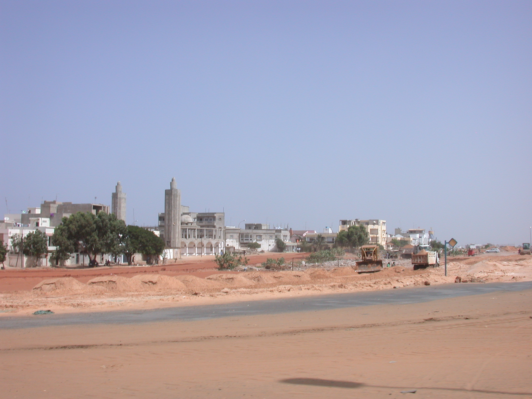 Terrain on Route to Airport, Dakar, Senegal