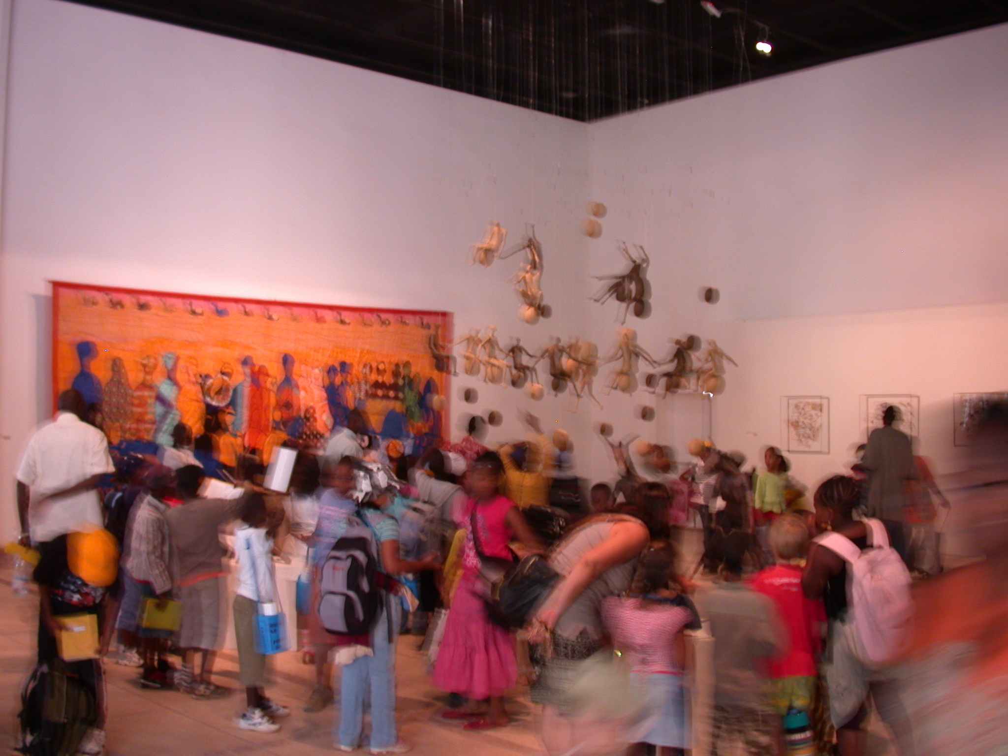 Children Viewing Exhibit, Musee Nationale du Mali, Bamako, Mali