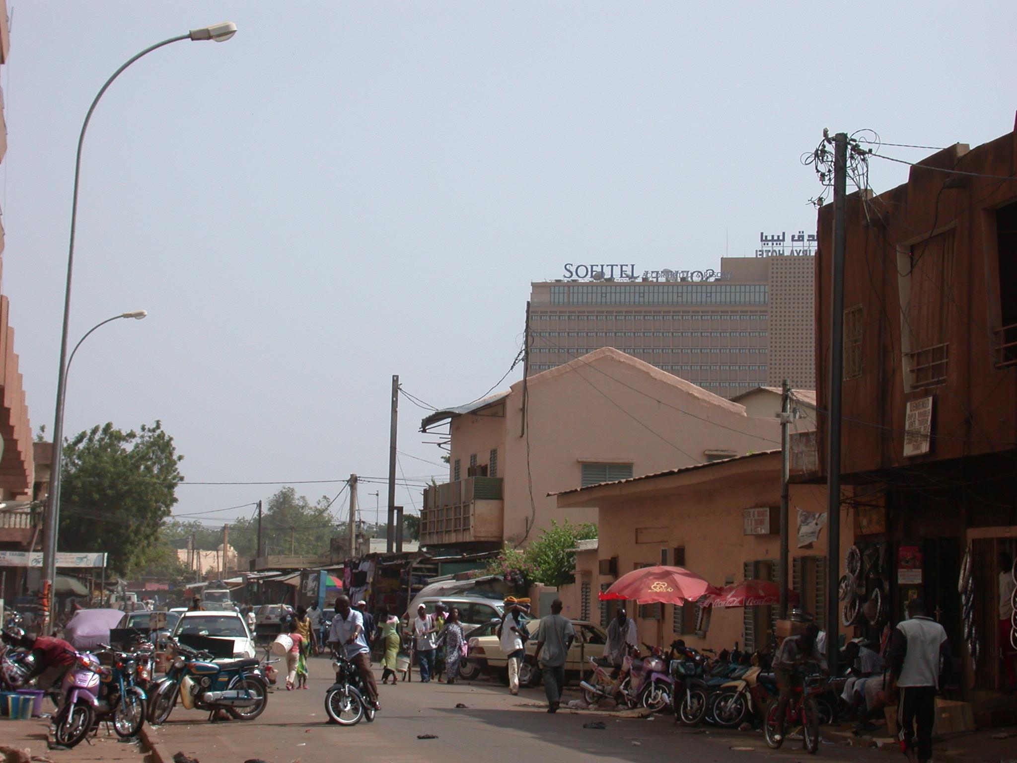 Street Scene, Bamako, Mali