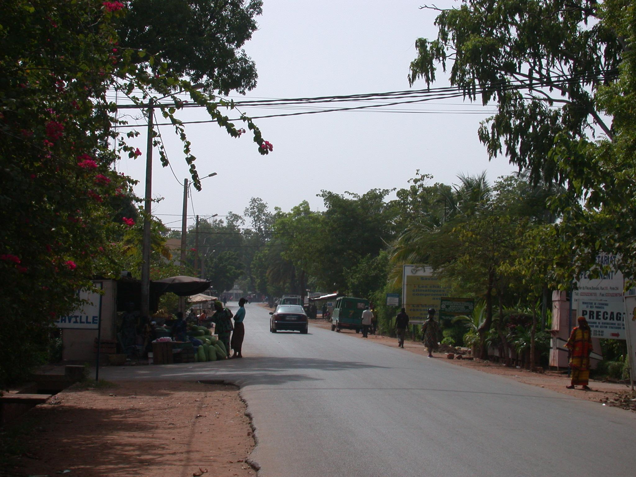 Another Street Scene, Bamako, Mali