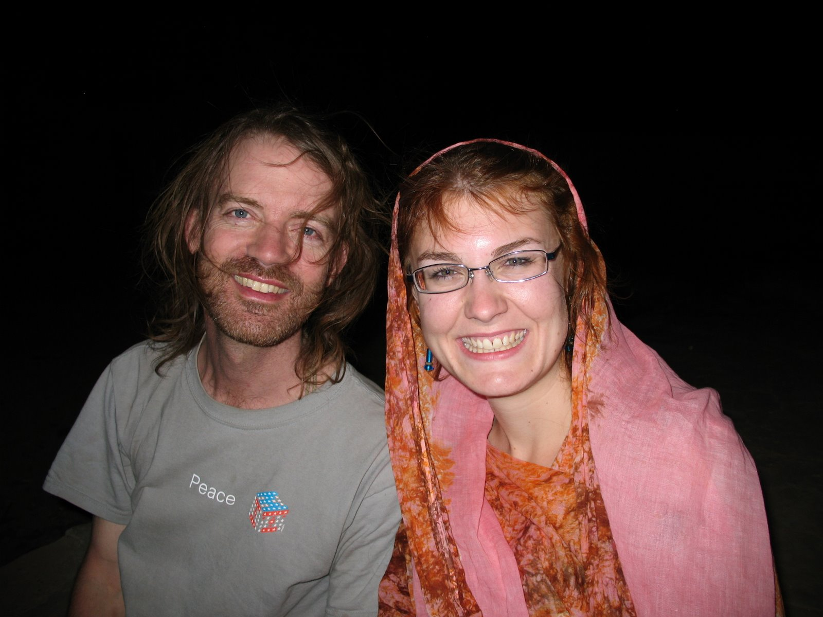 Will and Sarah of the Peace Corps, Nema, Mauritania