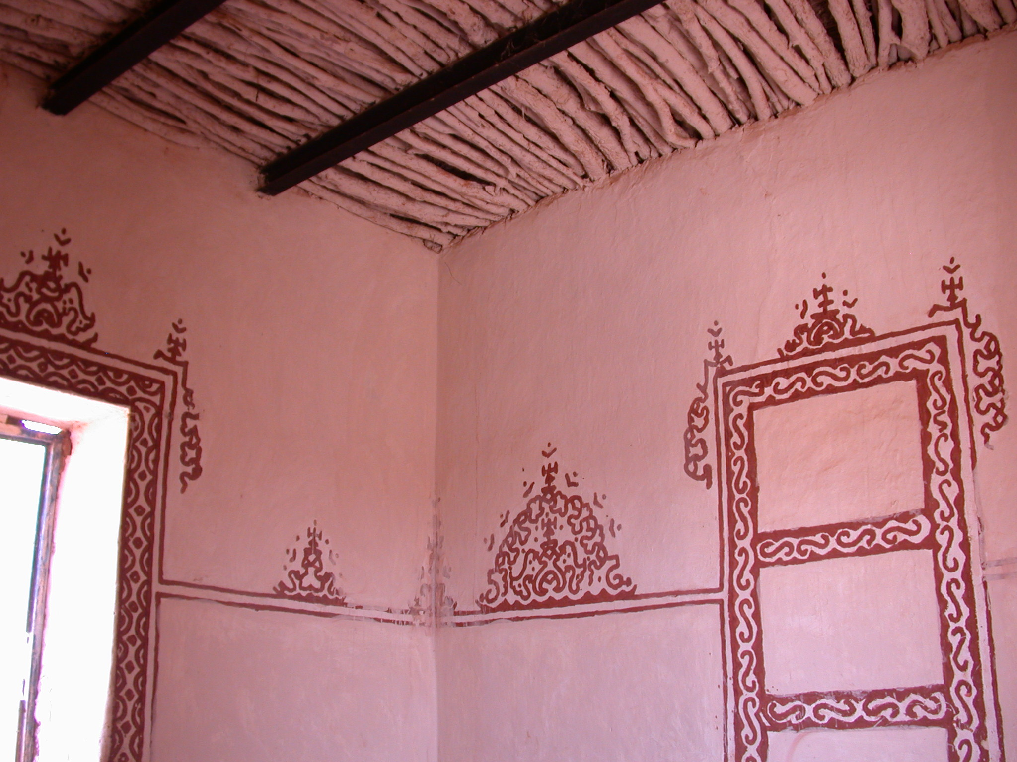 Hotel Room in Ancient City of Oulata, Mauritania