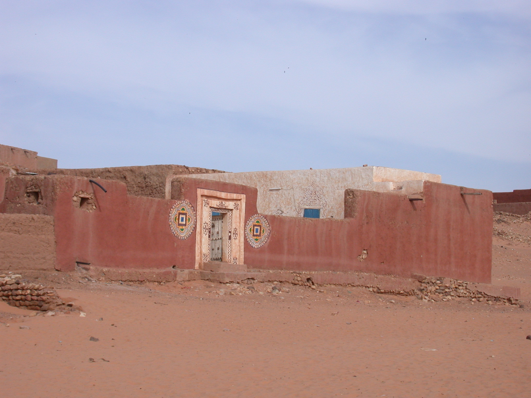 Banco Building in Ancient City of Oulata, Mauritania