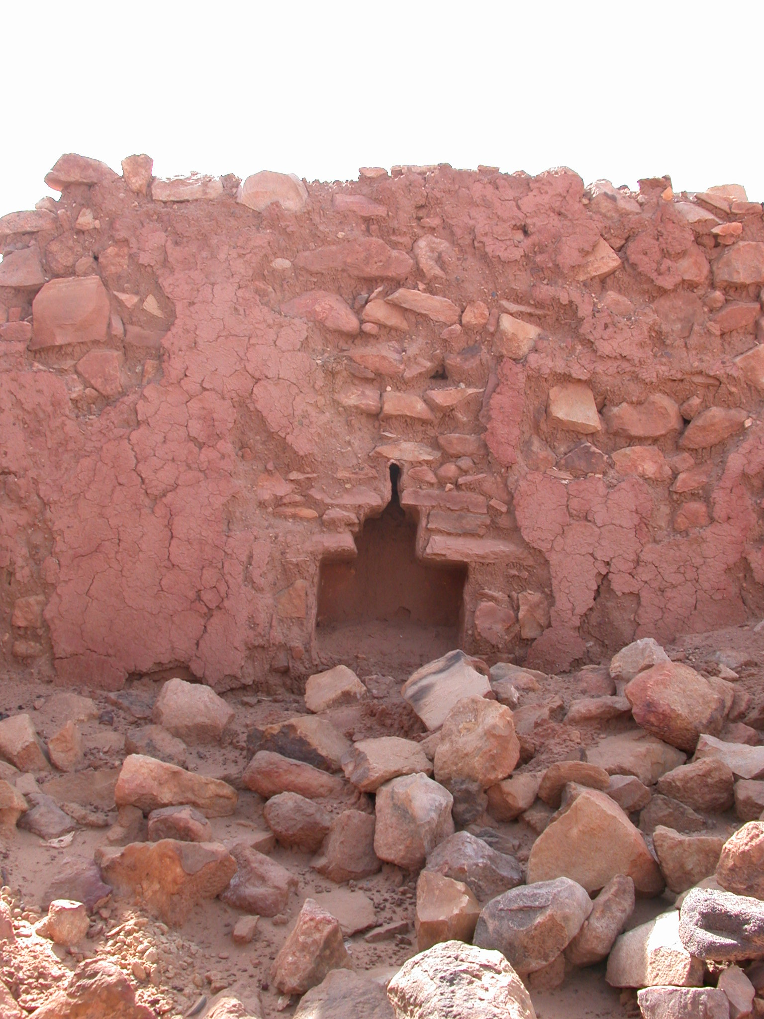 Unique Alcove Shape in Ancient City of Oulata, Mauritania