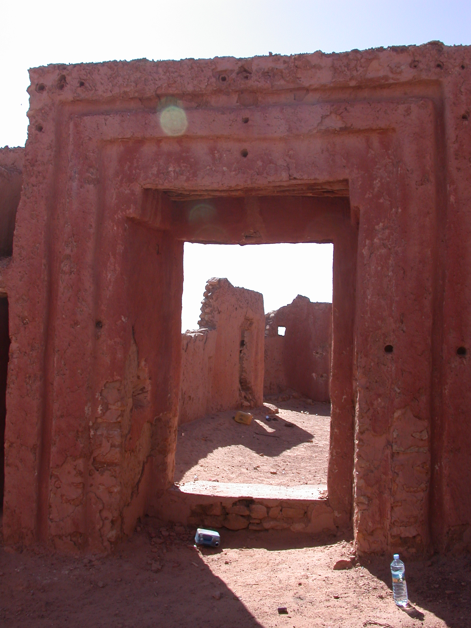 City Entrance of Ancient City of Oulata, Mauritania