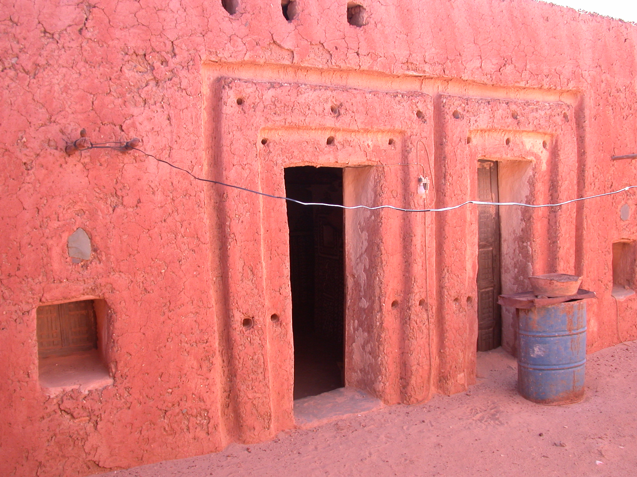 Interior Doorway of Library in Ancient City of Oulata, Mauritania