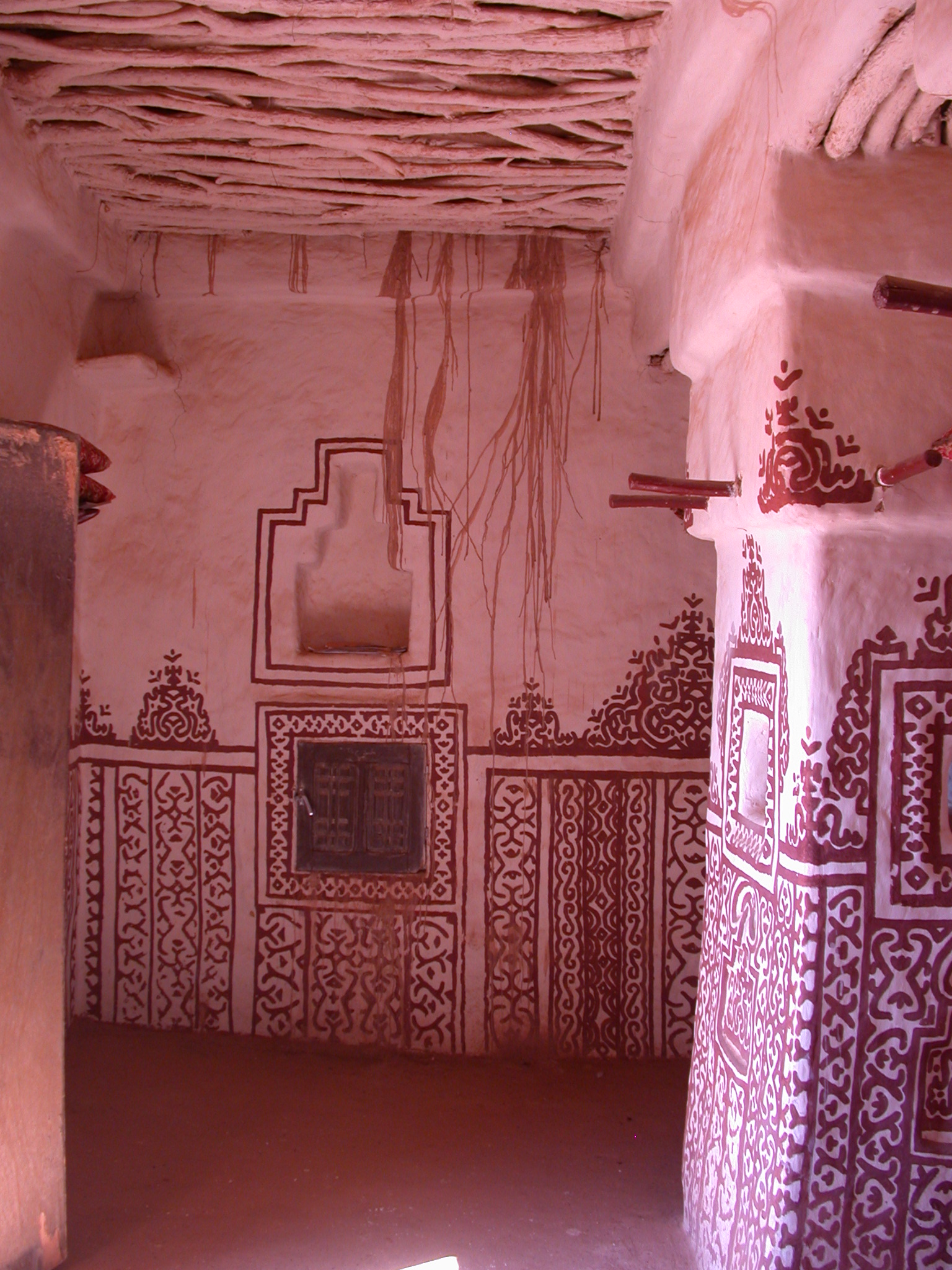 Interior of Library in Ancient City of Oulata, Mauritania