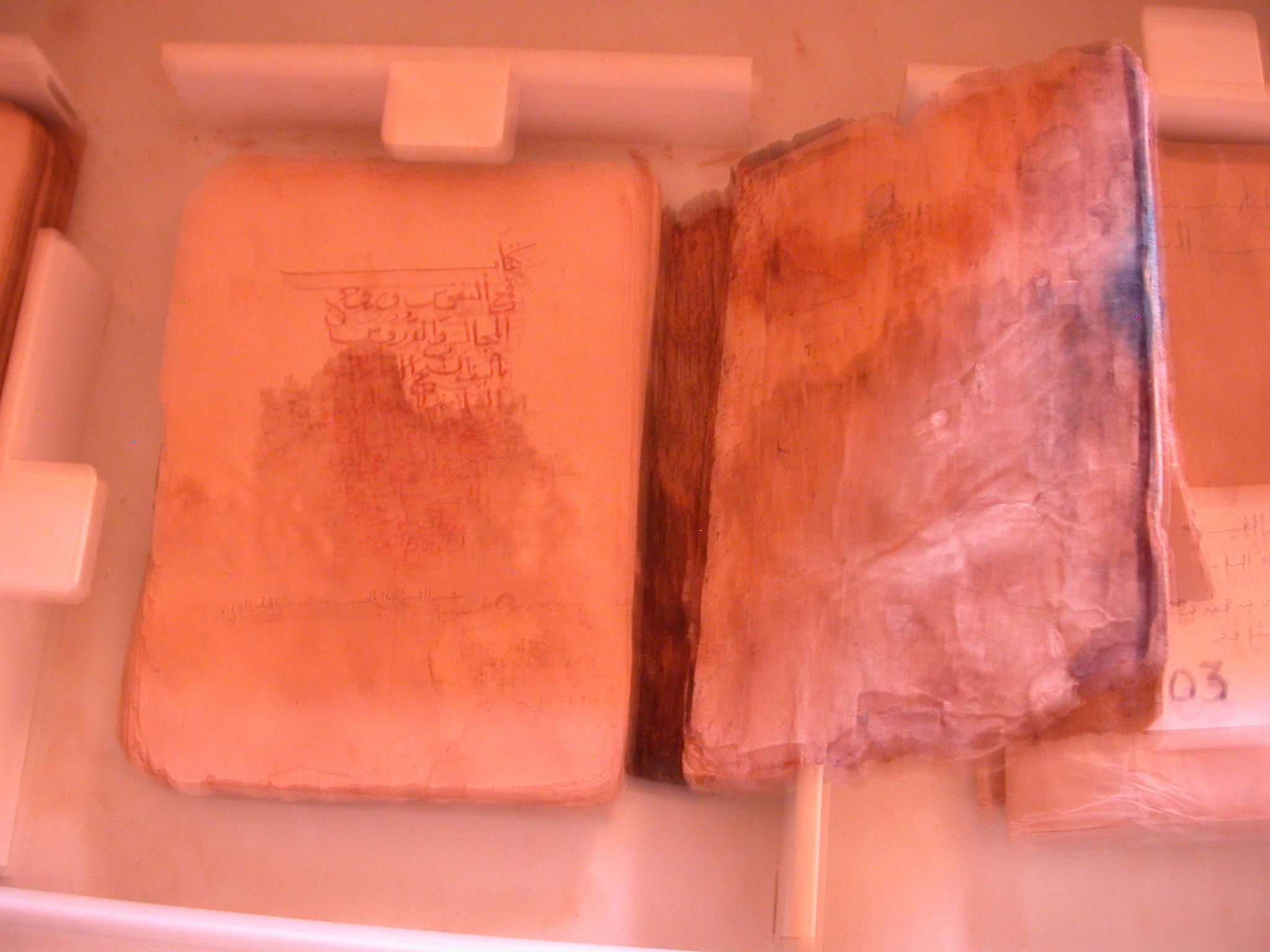 Damaged Book at Library in Ancient City of Oulata, Mauritania