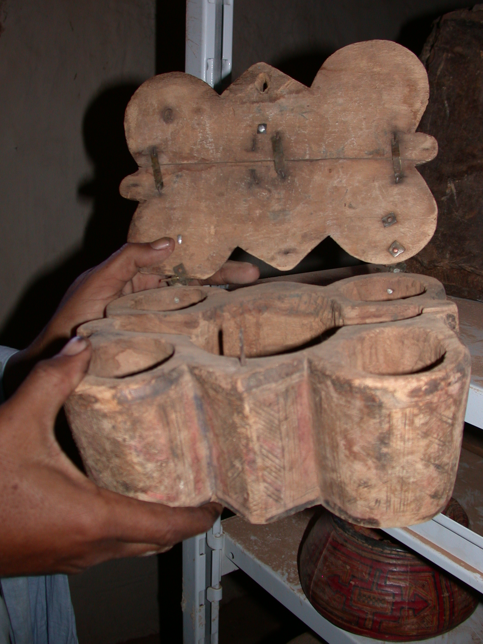 Maybe Traditional Jewelry Box in Ancient City of Oualata, Mauritania